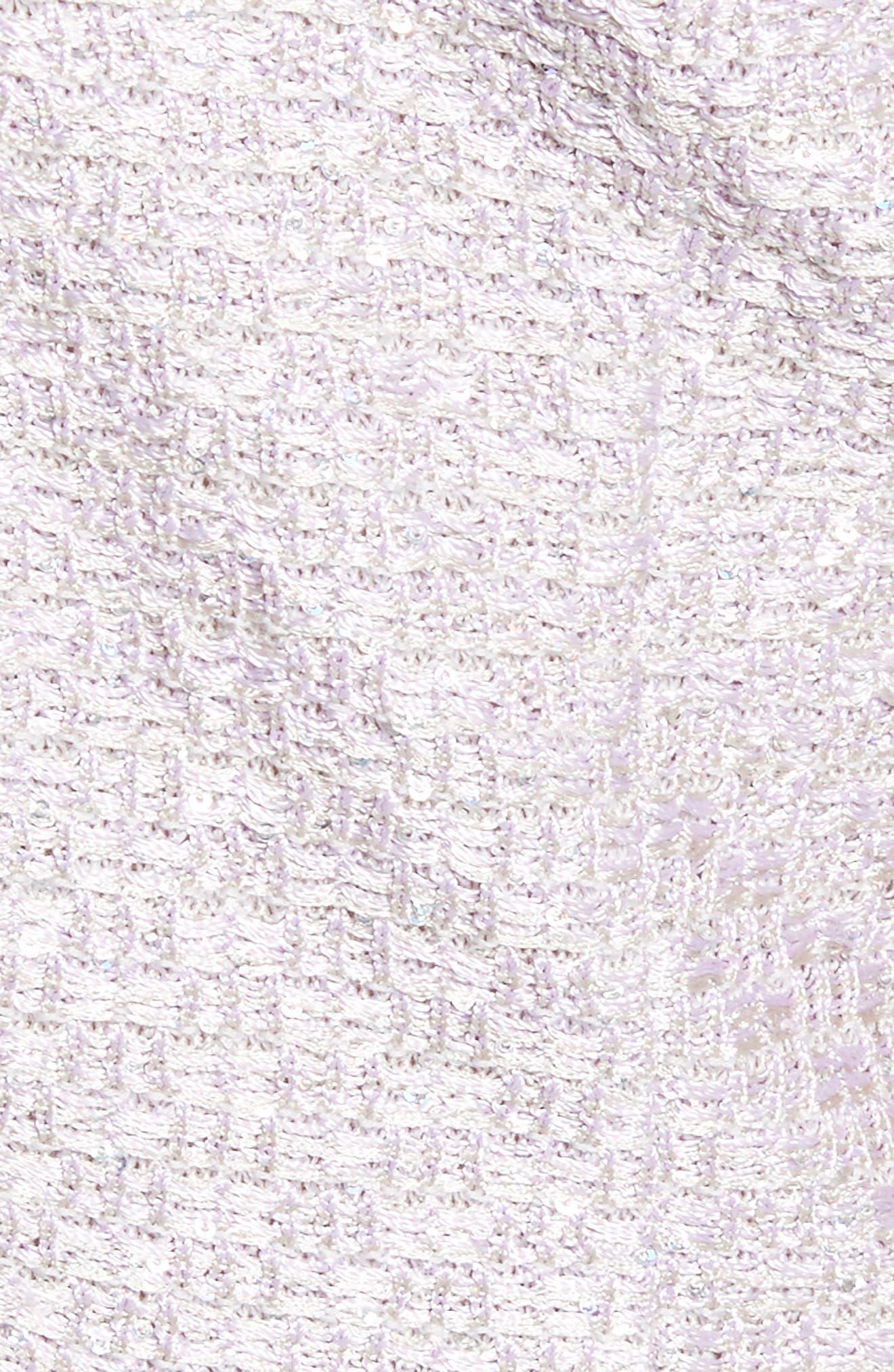 Hansh Sequin Knit Column Gown,                             Alternate thumbnail 5, color,