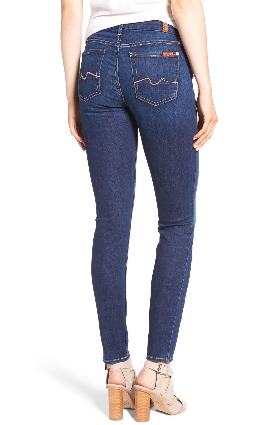 b(air) Skinny Jeans,                             Alternate thumbnail 3, color,                             400