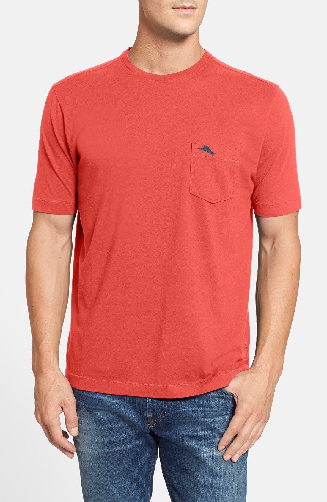New Bali Sky Pima Cotton Pocket T-Shirt,                             Main thumbnail 52, color,