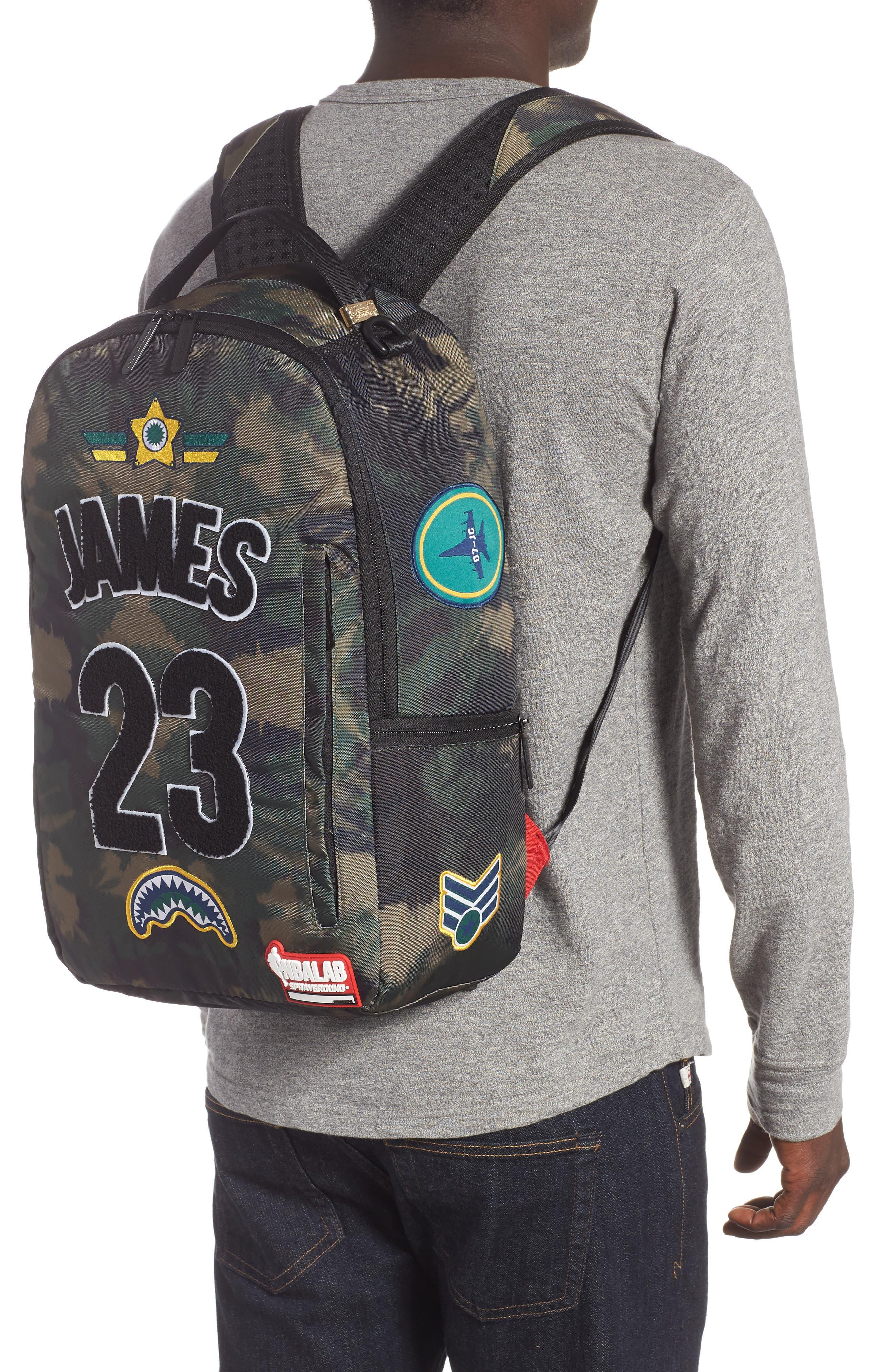 James Tie Dye Backpack,                             Alternate thumbnail 2, color,                             TIE DYE