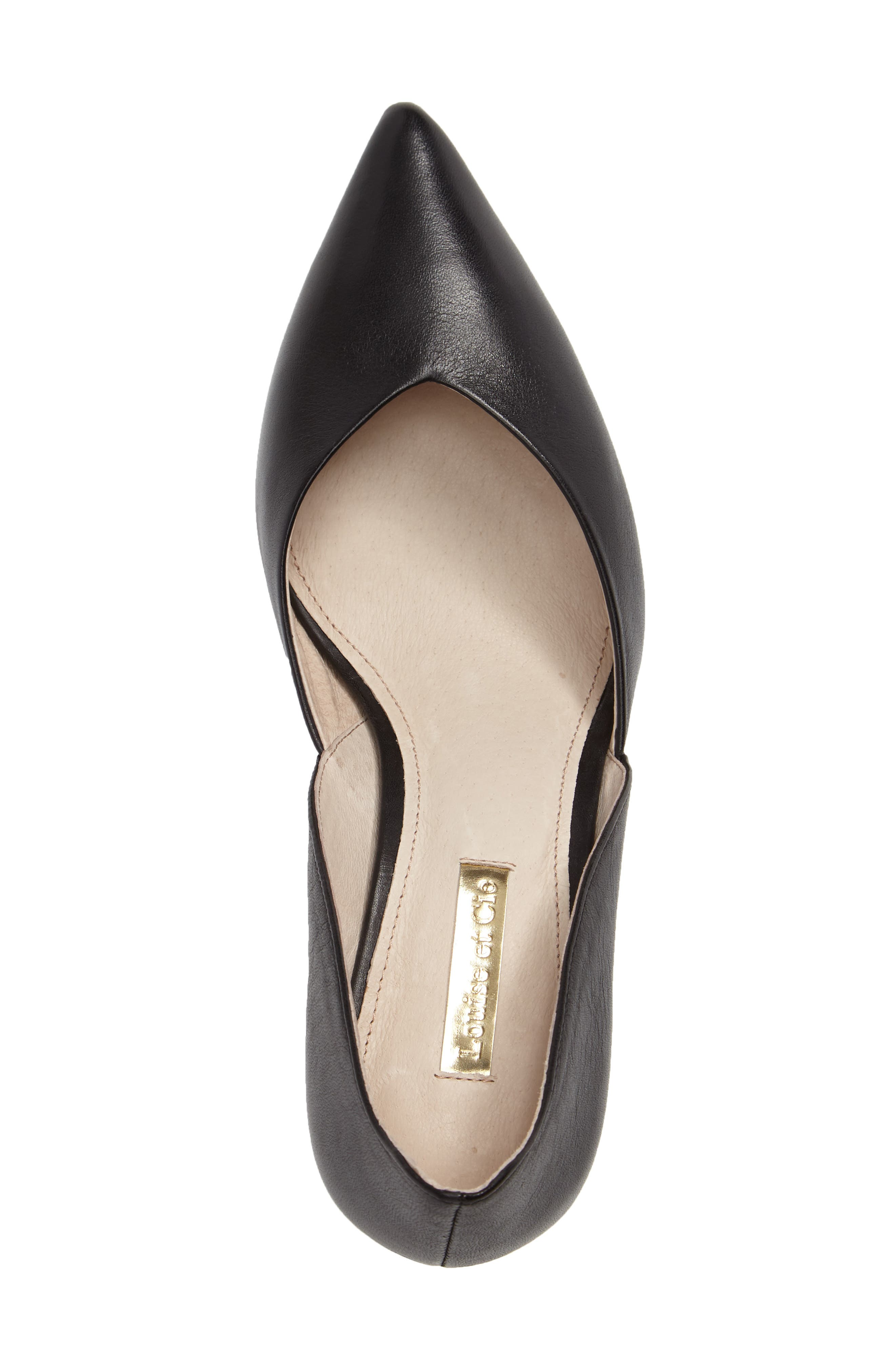 Jacee Pointy Toe Pump,                             Alternate thumbnail 5, color,                             002