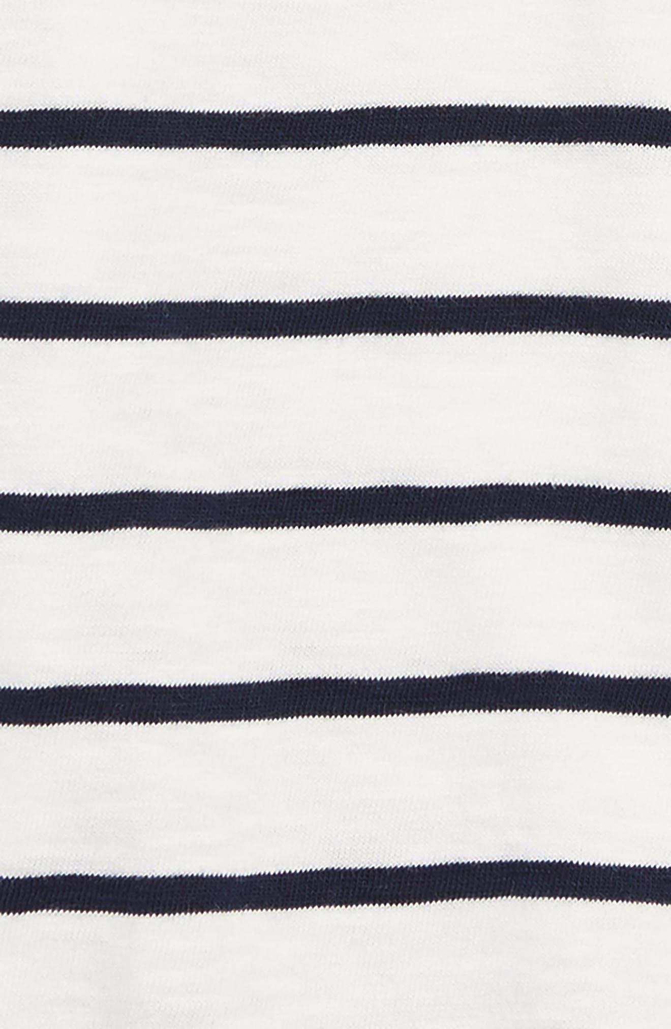 Stripe Polo,                             Alternate thumbnail 2, color,                             IVORY