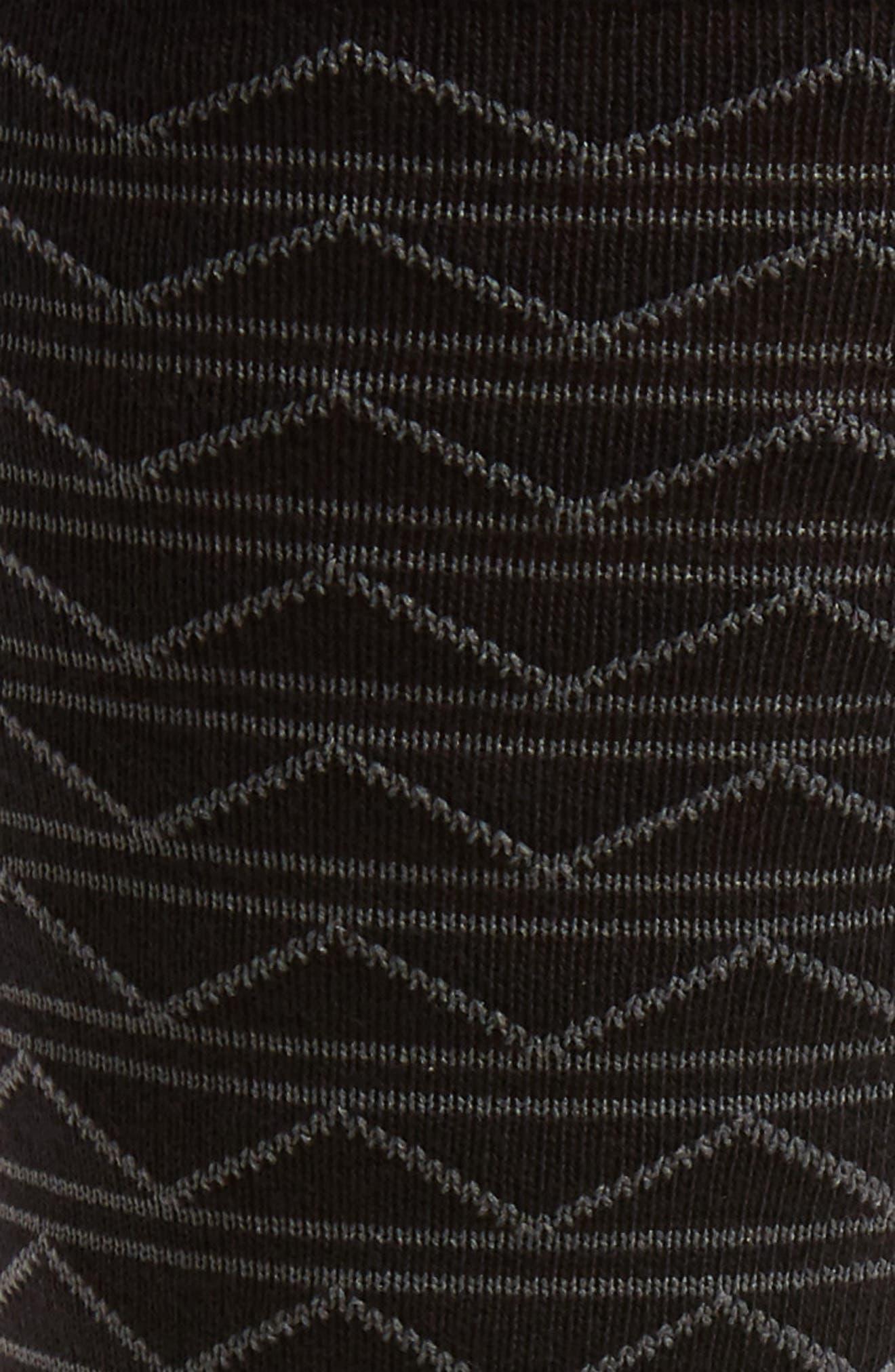 Zigzag Socks,                             Alternate thumbnail 2, color,