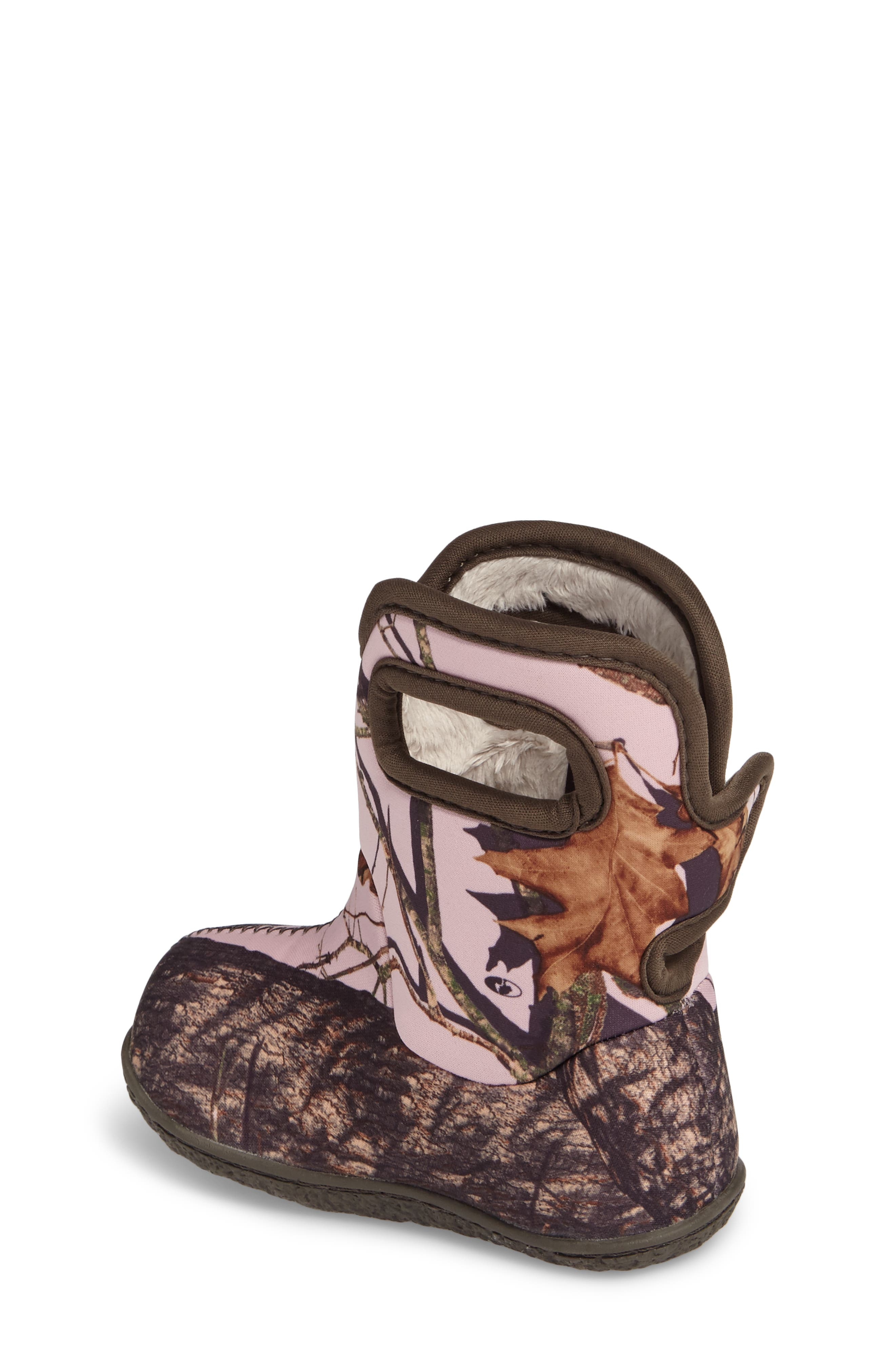 Baby Bogs Classic Camo Insulated Waterproof Boot,                             Alternate thumbnail 2, color,                             PINK MOSSY OAK COUNTRY