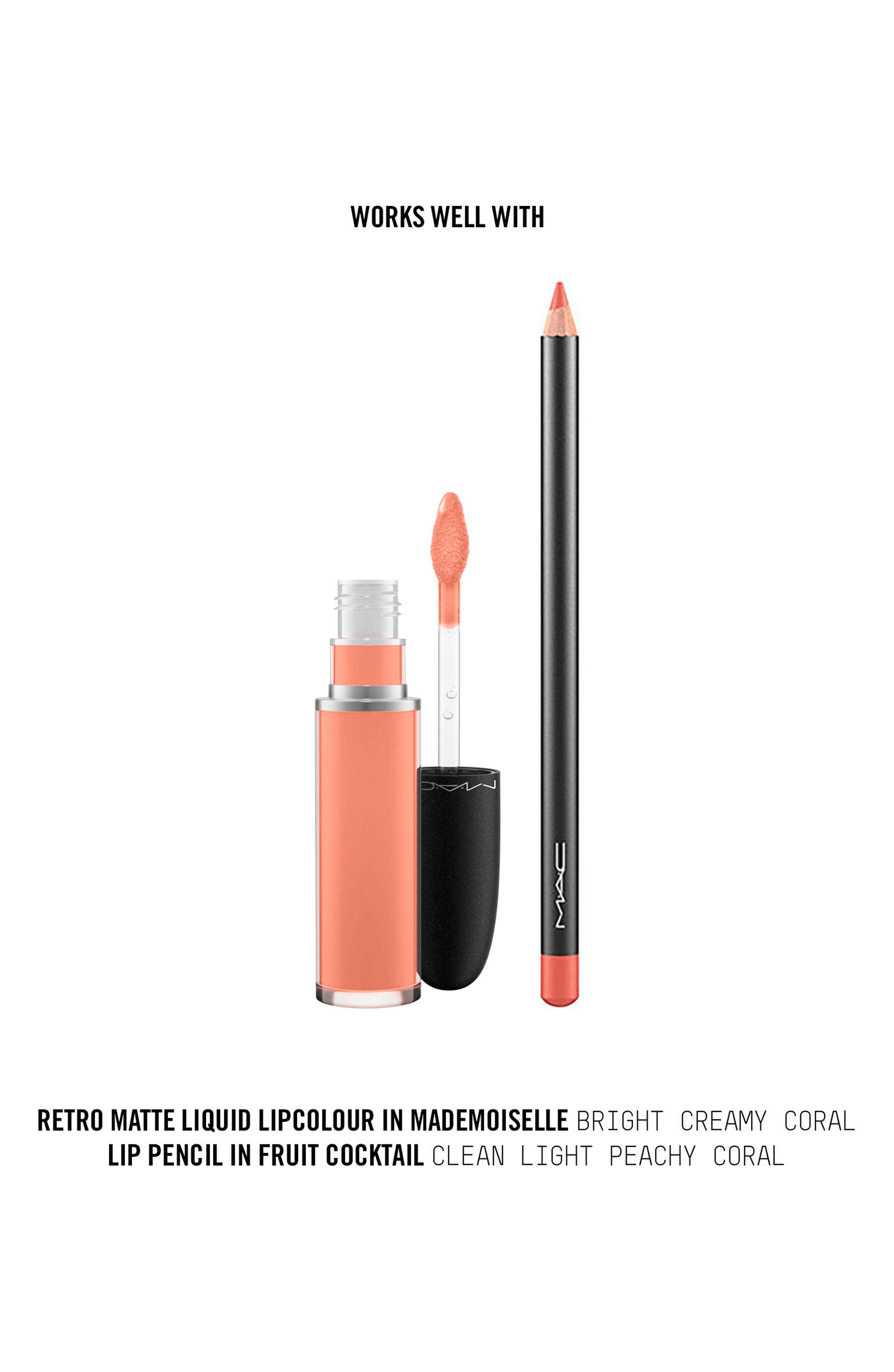MAC Retro Matte Liquid Lipcolor,                             Alternate thumbnail 162, color,