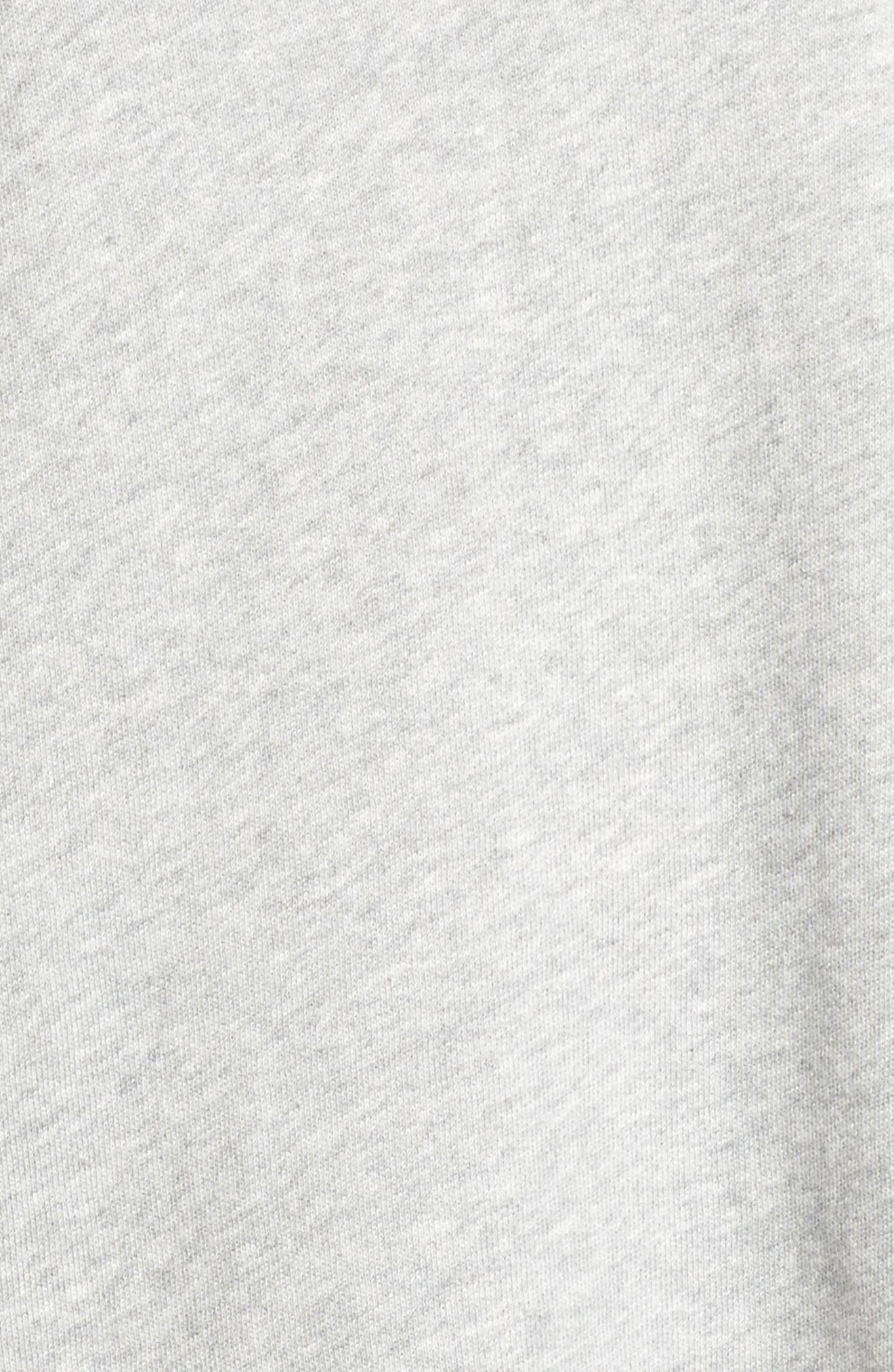 Layered Look Sweatshirt,                             Alternate thumbnail 5, color,                             021