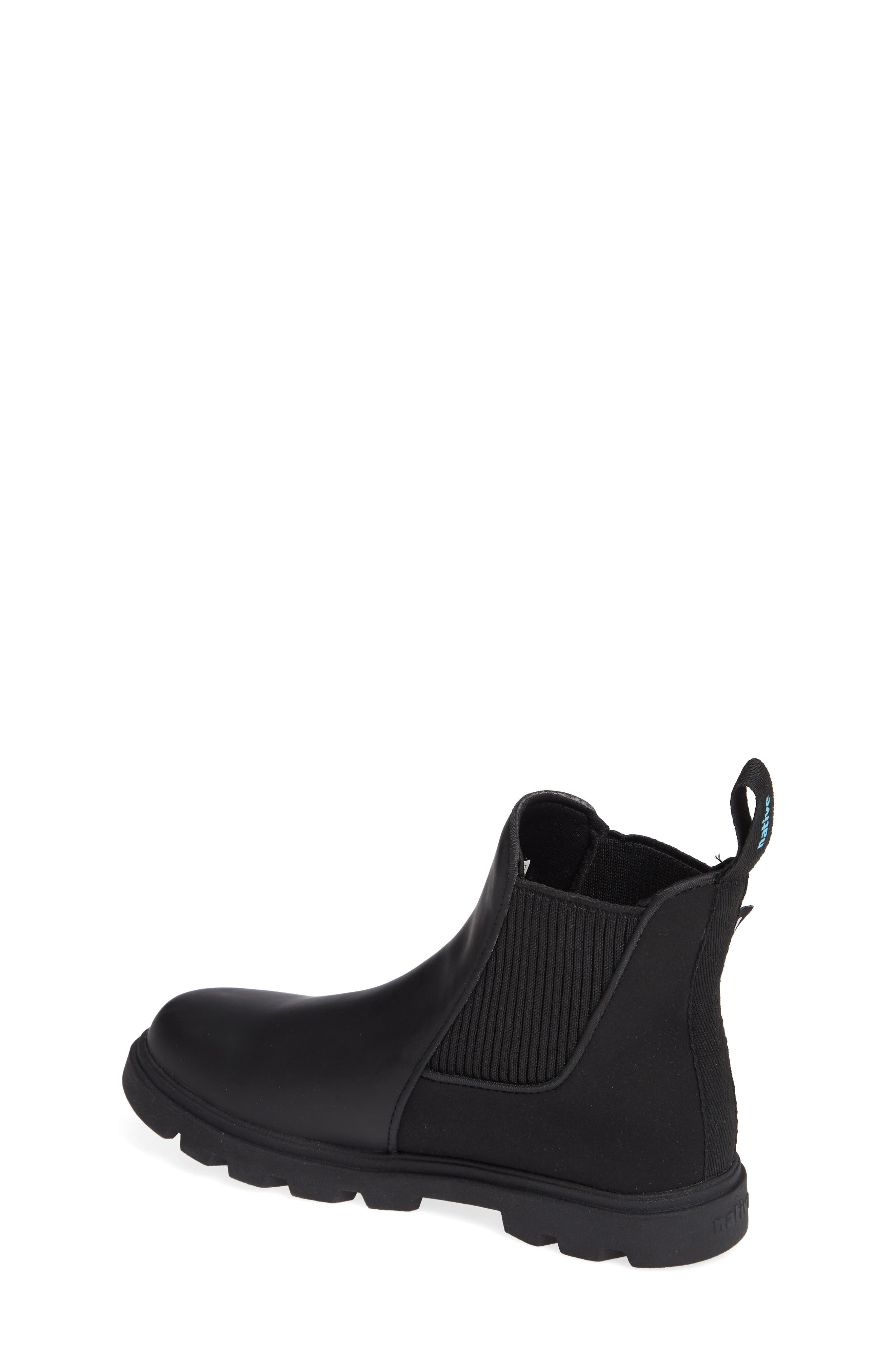 Kensington Treklite Vegan Leather Chelsea Bootie,                             Alternate thumbnail 2, color,                             JIFFY BLACK