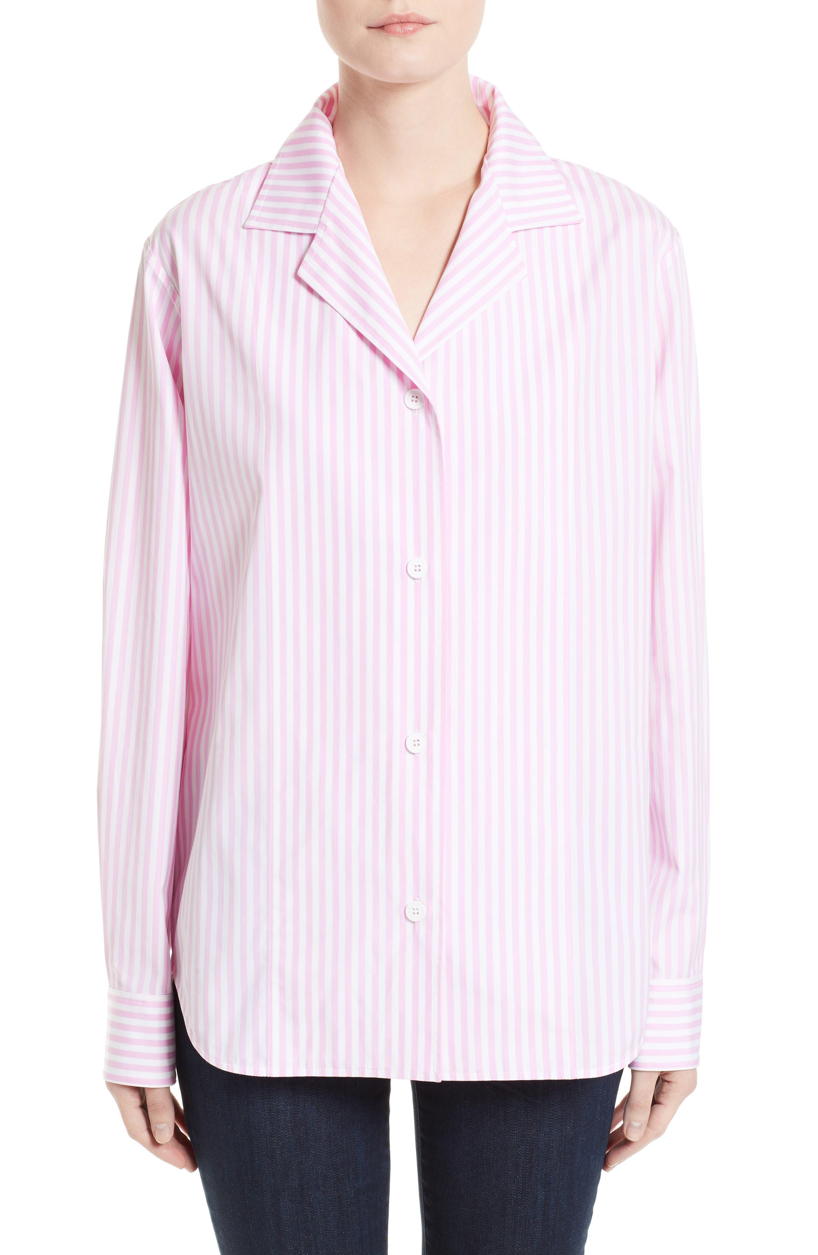 Cotton Grandad Shirt,                             Main thumbnail 1, color,                             650