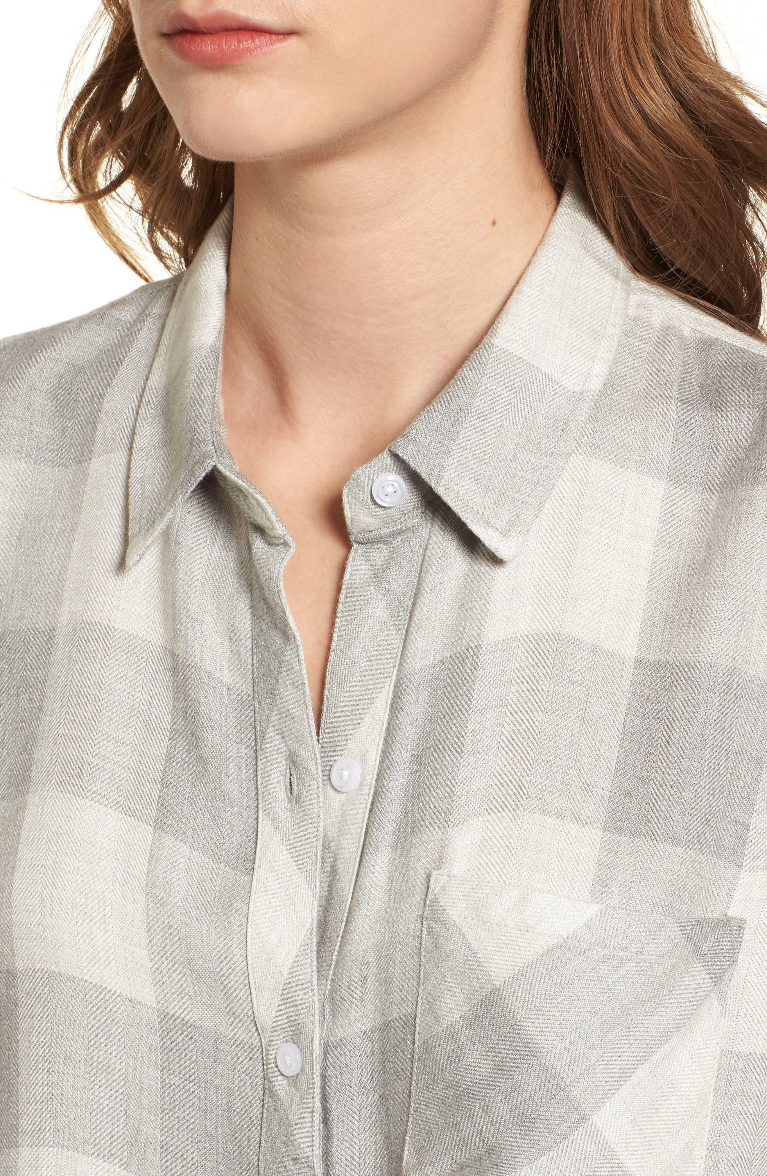 Hunter Plaid Shirt,                             Alternate thumbnail 434, color,