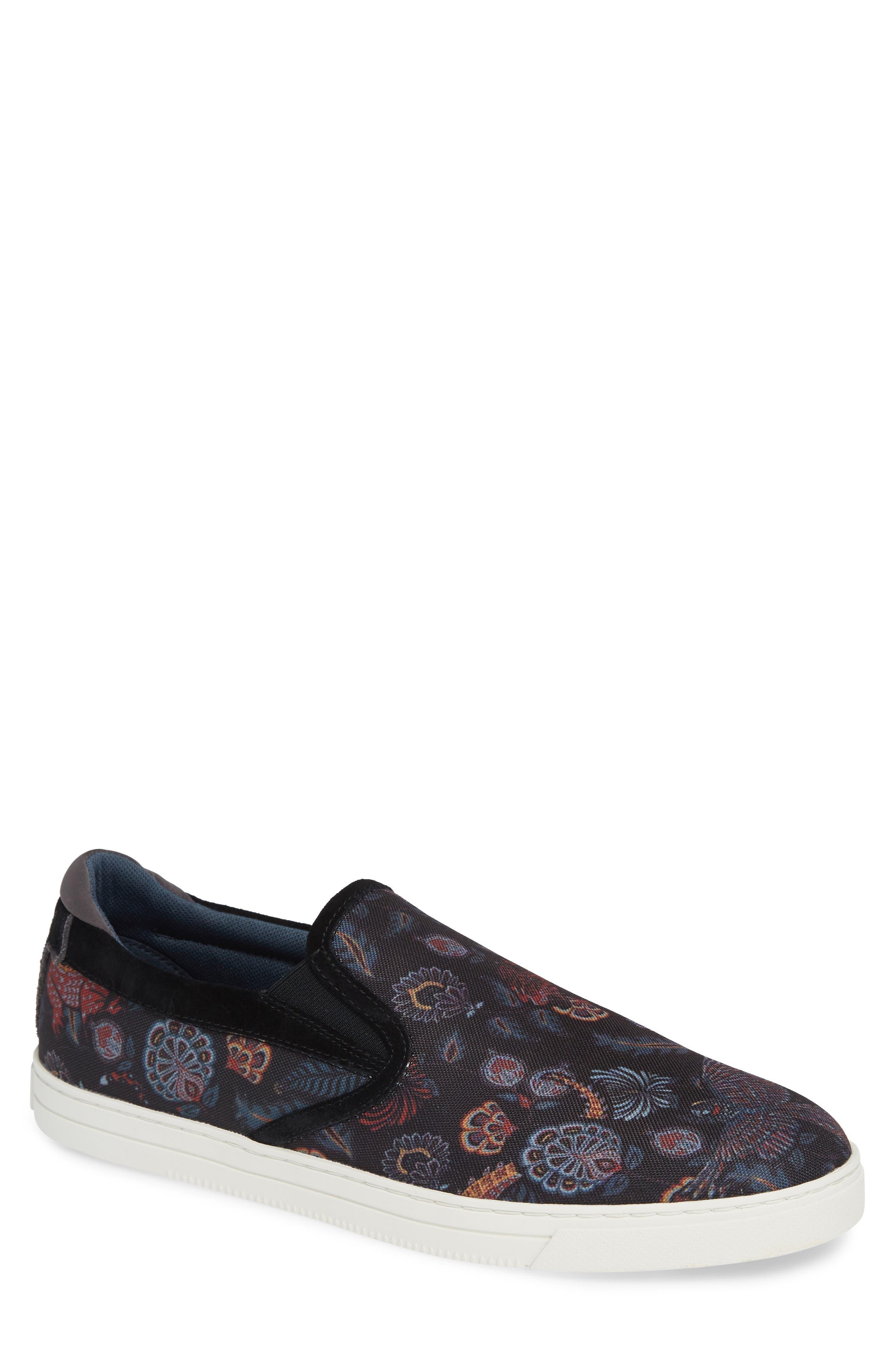 Mhako Slip-On Sneaker,                         Main,                         color, BLACK/ GREY