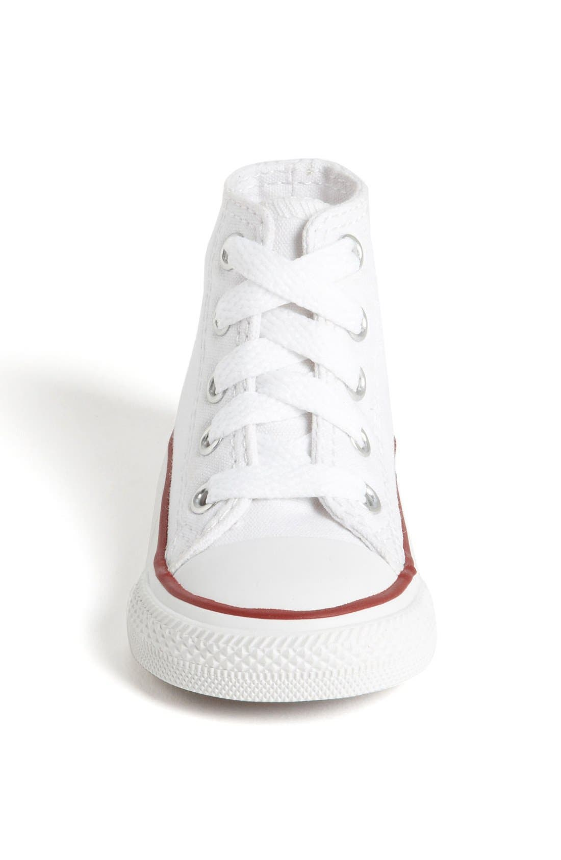 All Star<sup>®</sup> High Top Sneaker,                             Alternate thumbnail 3, color,                             OPTIC WHITE