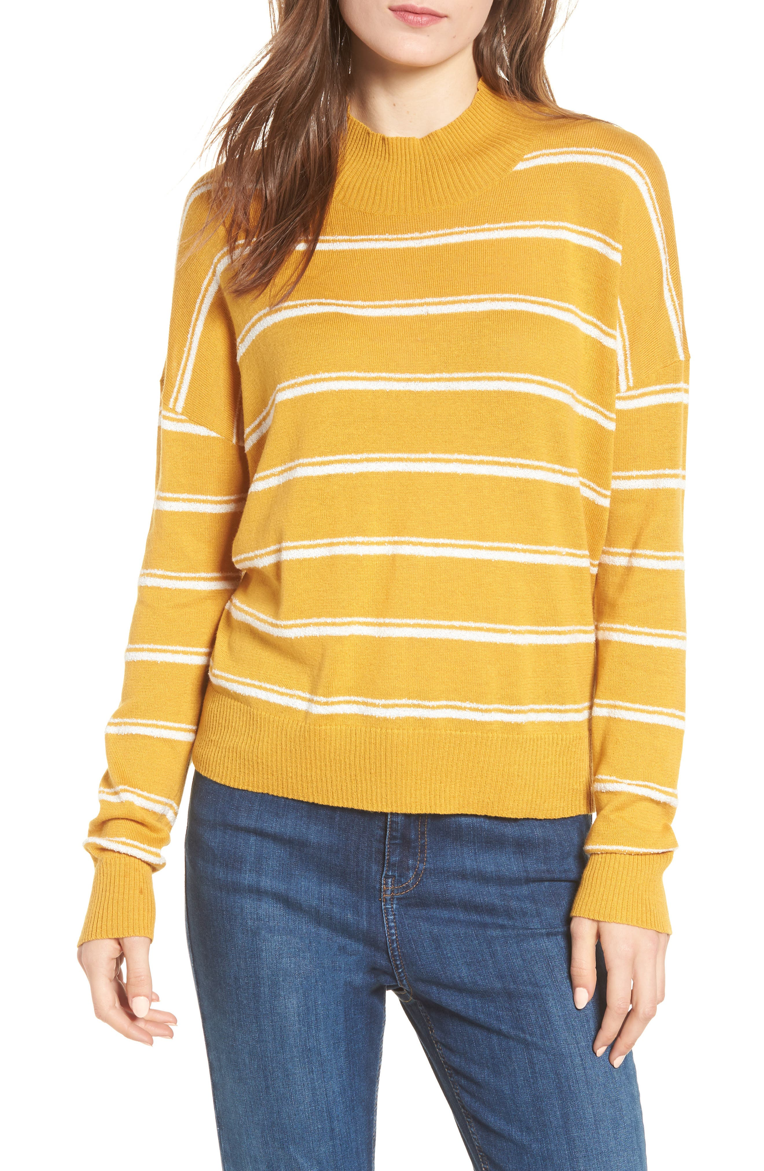 Armed Stripe Sweater,                         Main,                         color, 779
