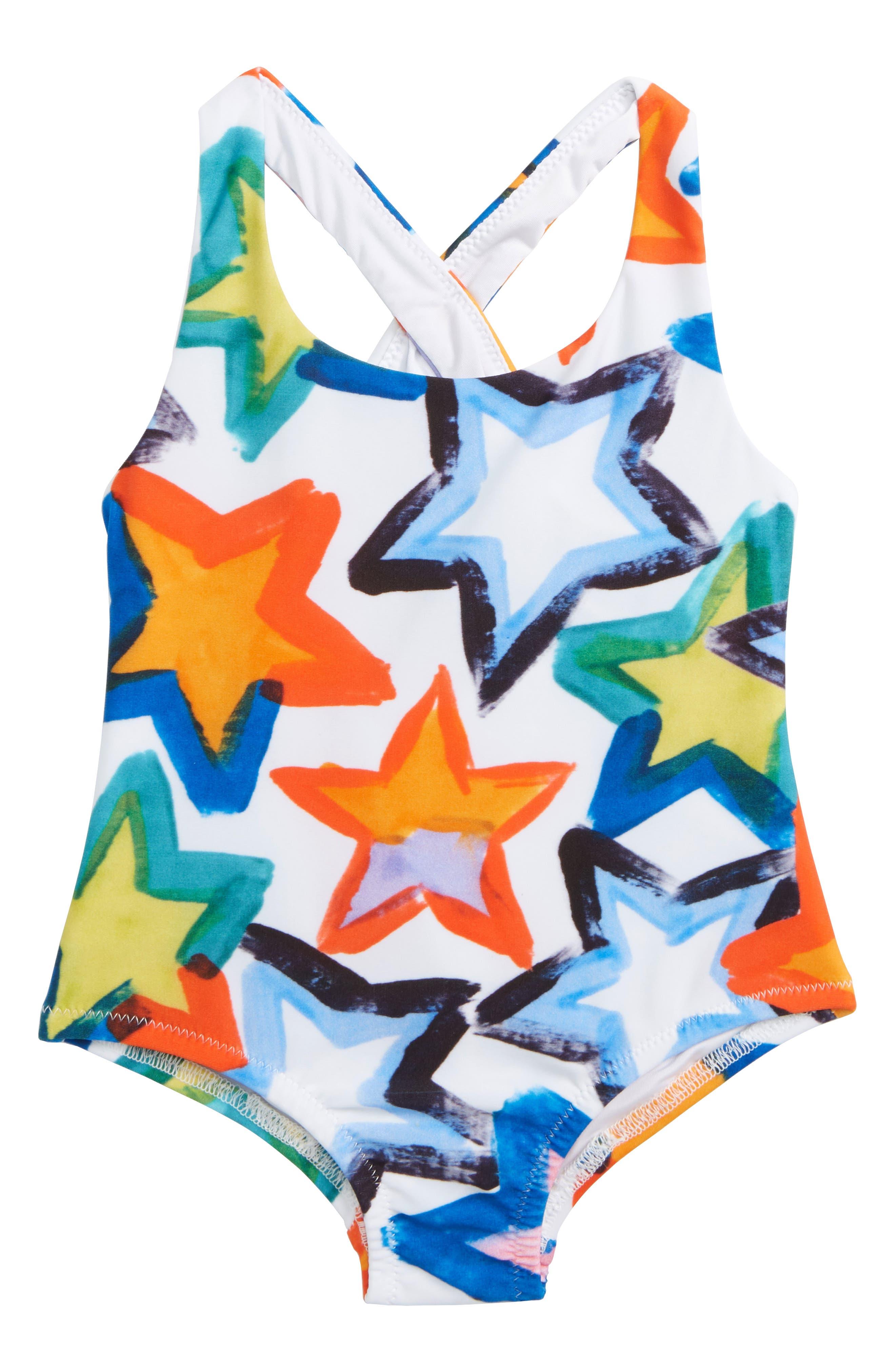 One-Piece Swimsuit,                         Main,                         color, 164