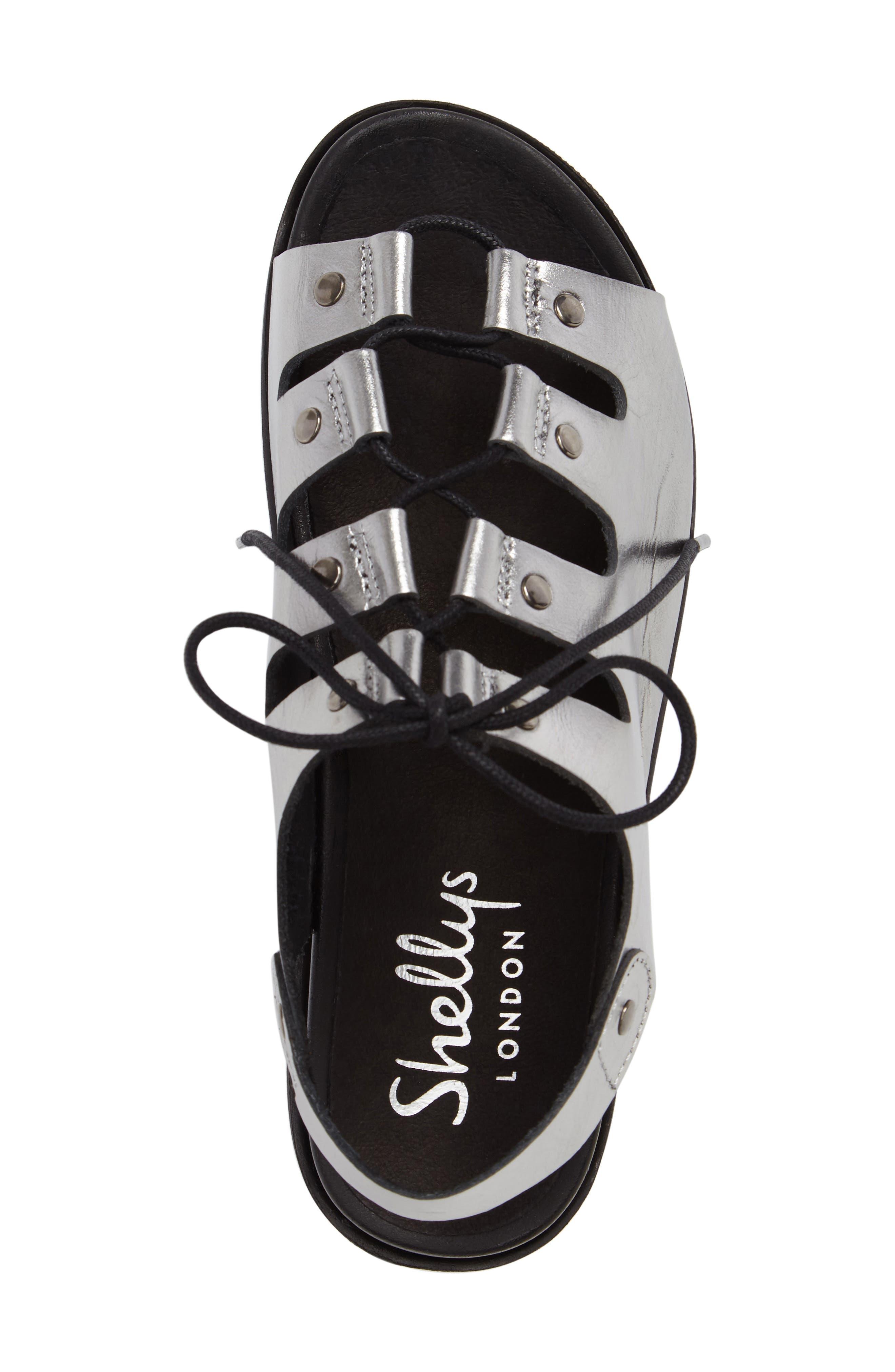 Kacey Platform Sandal,                             Alternate thumbnail 5, color,                             050