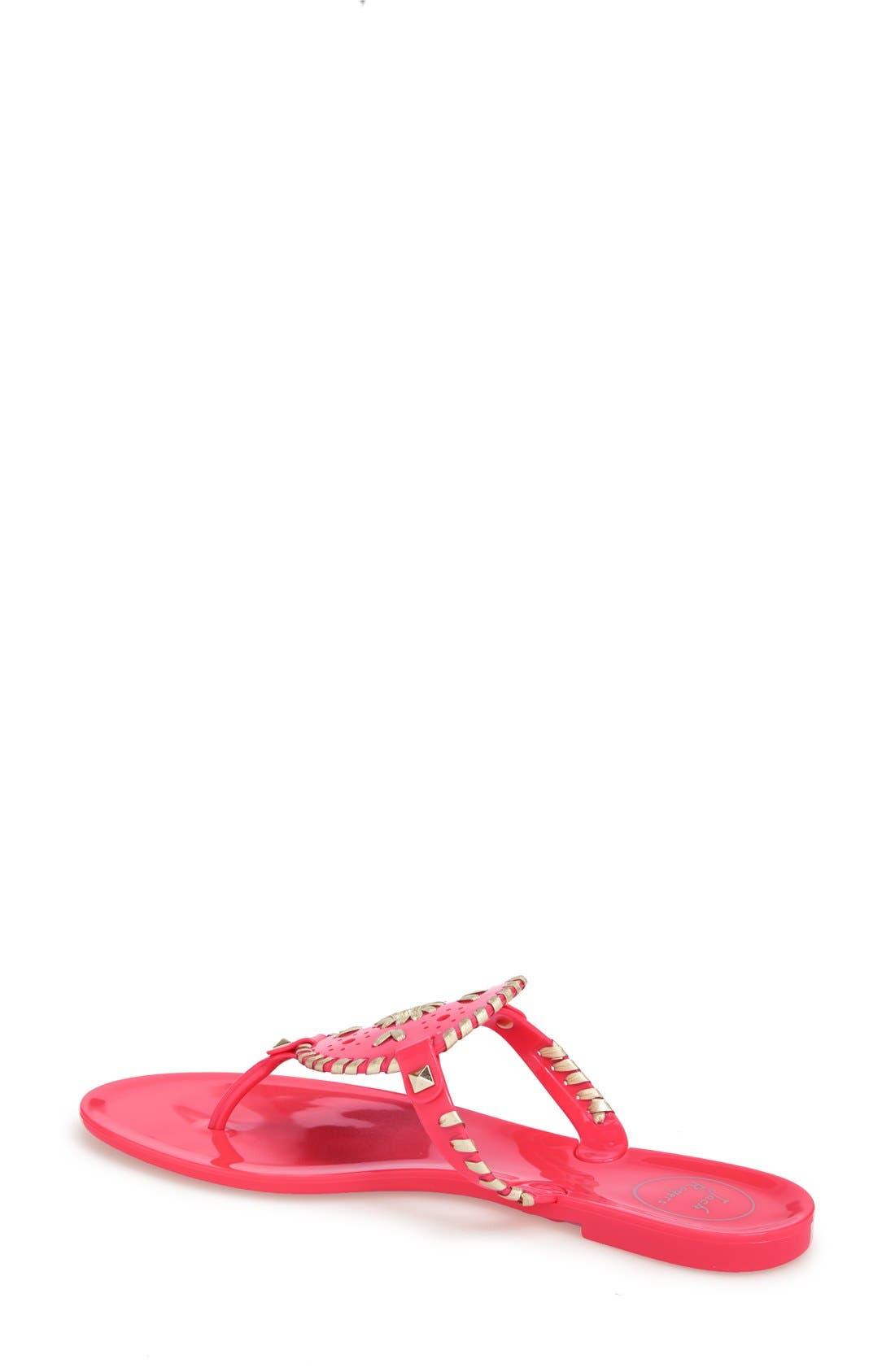 'Georgica' Jelly Flip Flop,                             Alternate thumbnail 119, color,