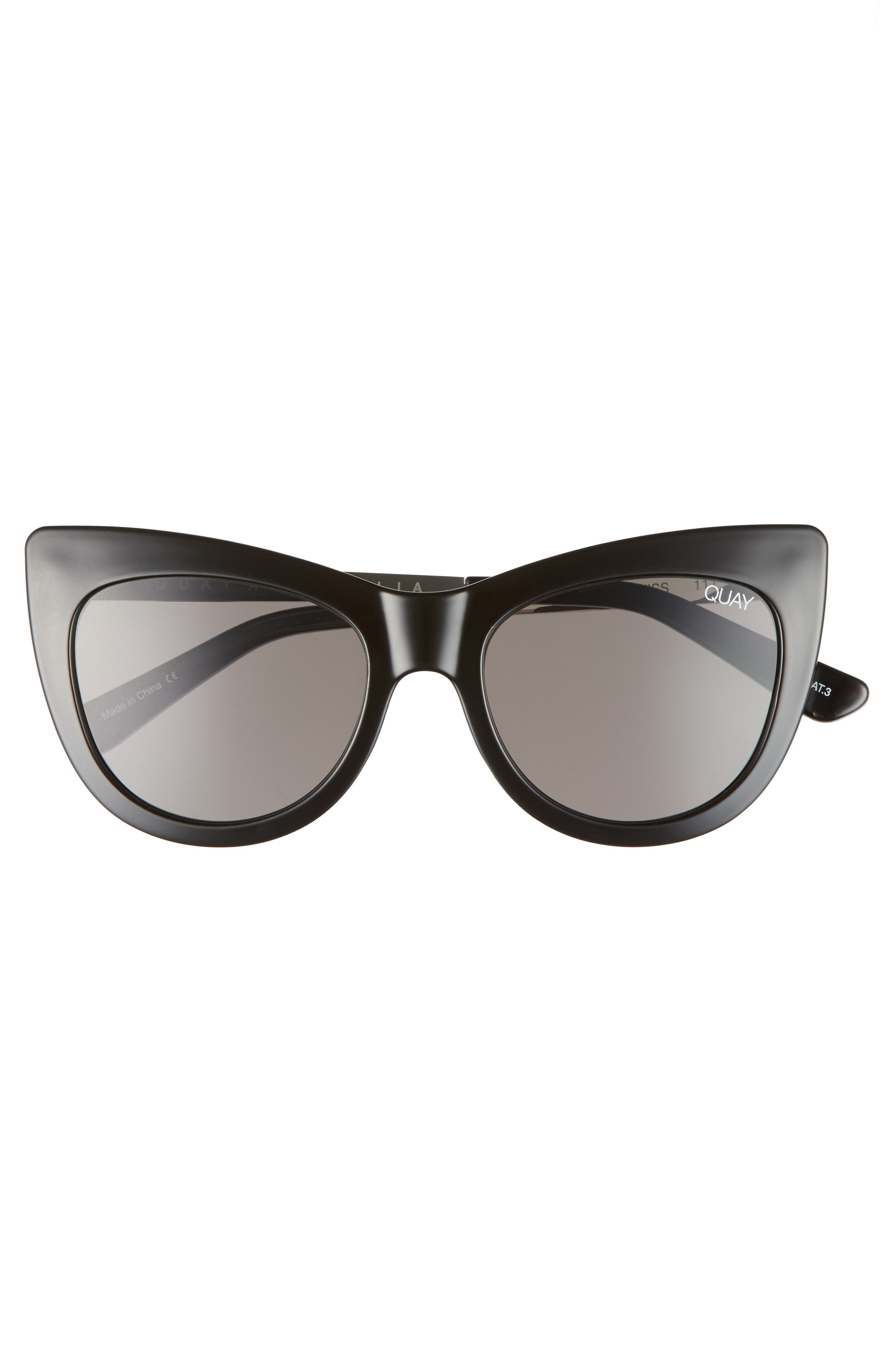 53mm Steal a Kiss Cat-eye Sunglasses,                             Alternate thumbnail 3, color,                             001