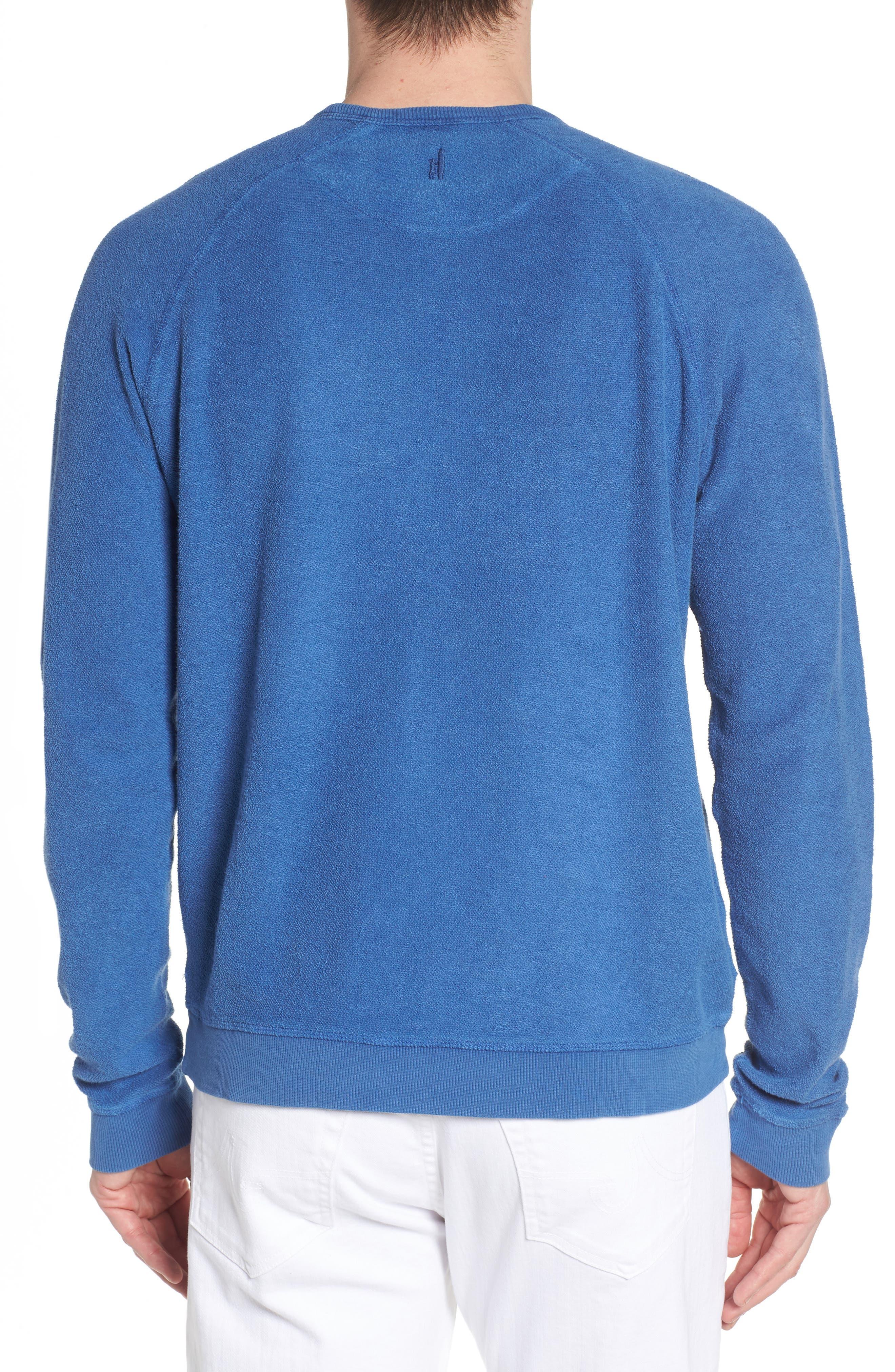 Mason Regular Fit Sweatshirt,                             Alternate thumbnail 2, color,                             TIDE