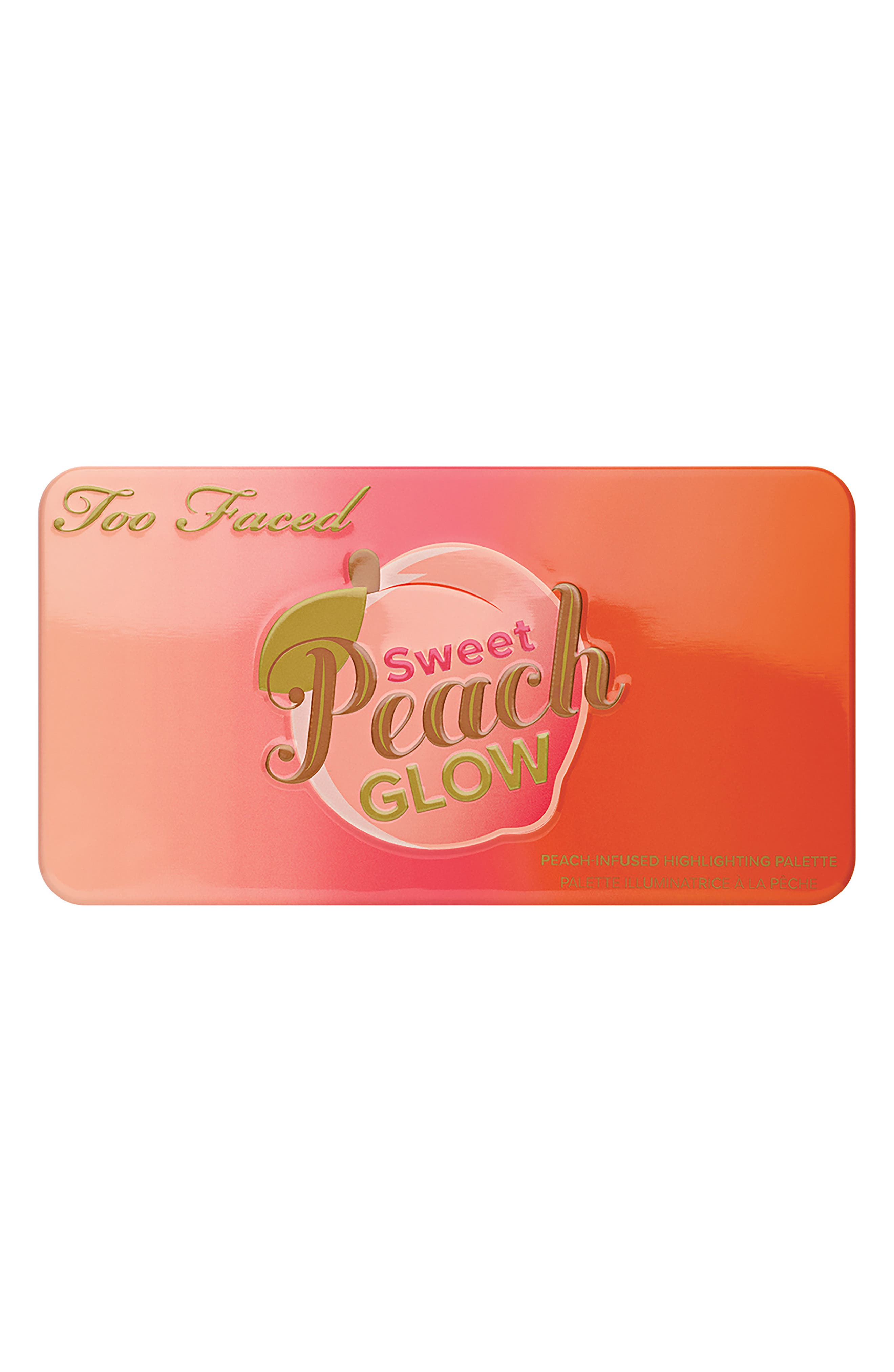 Sweet Peach Glow Highlighting Palette,                             Alternate thumbnail 3, color,                             NO COLOR