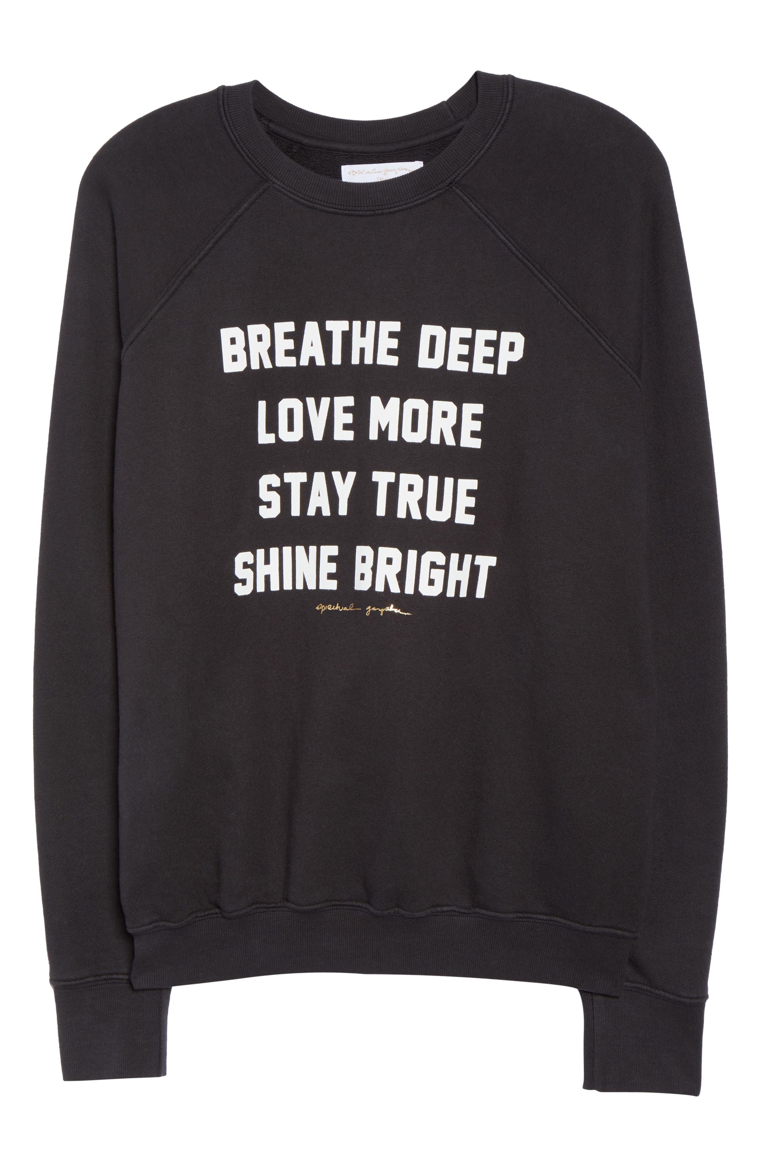 Breathe Sweatshirt,                             Alternate thumbnail 7, color,                             003