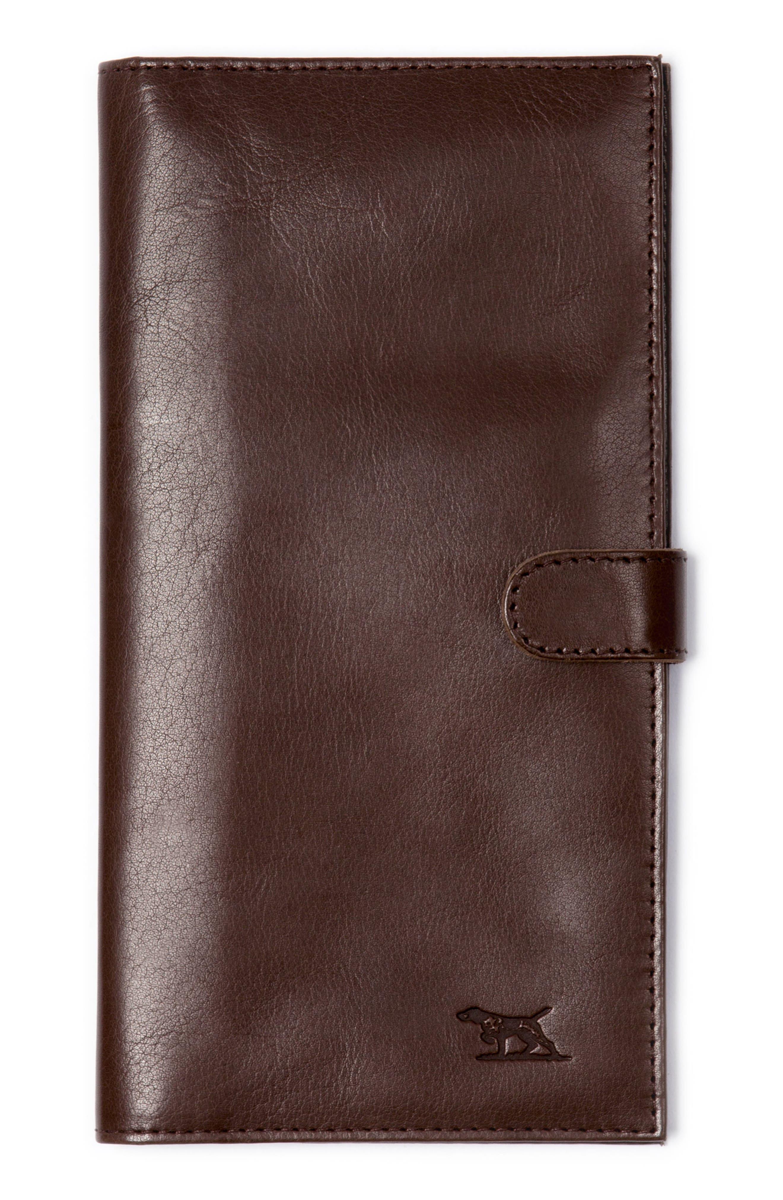 Tom Pearce Travel Wallet,                         Main,                         color, MUD
