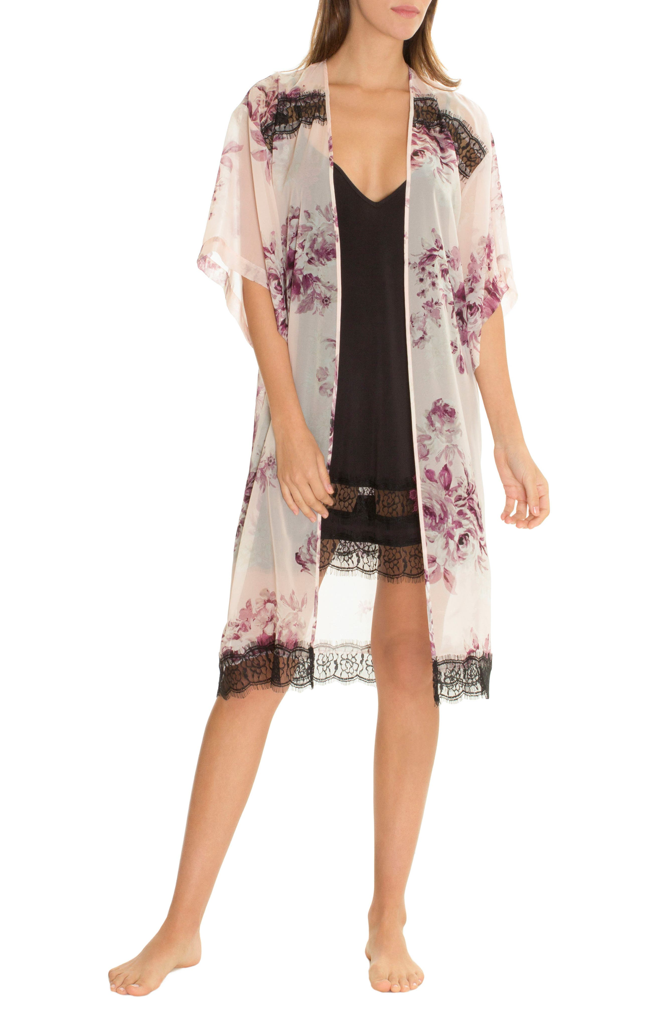 Kimono Robe,                             Main thumbnail 1, color,                             650