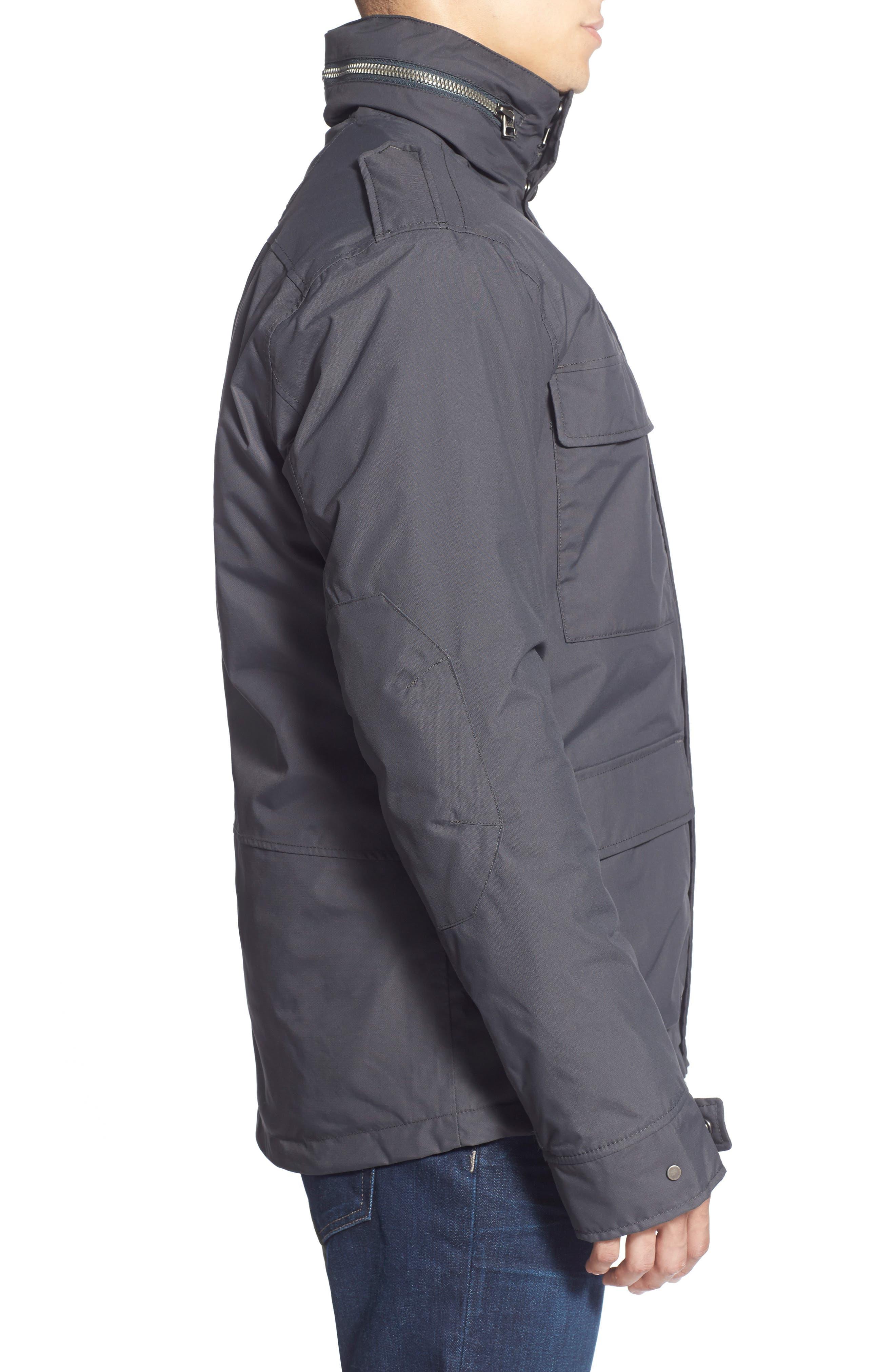 HellyHansen 'Universal' MotoRain Jacket,                             Alternate thumbnail 3, color,                             080