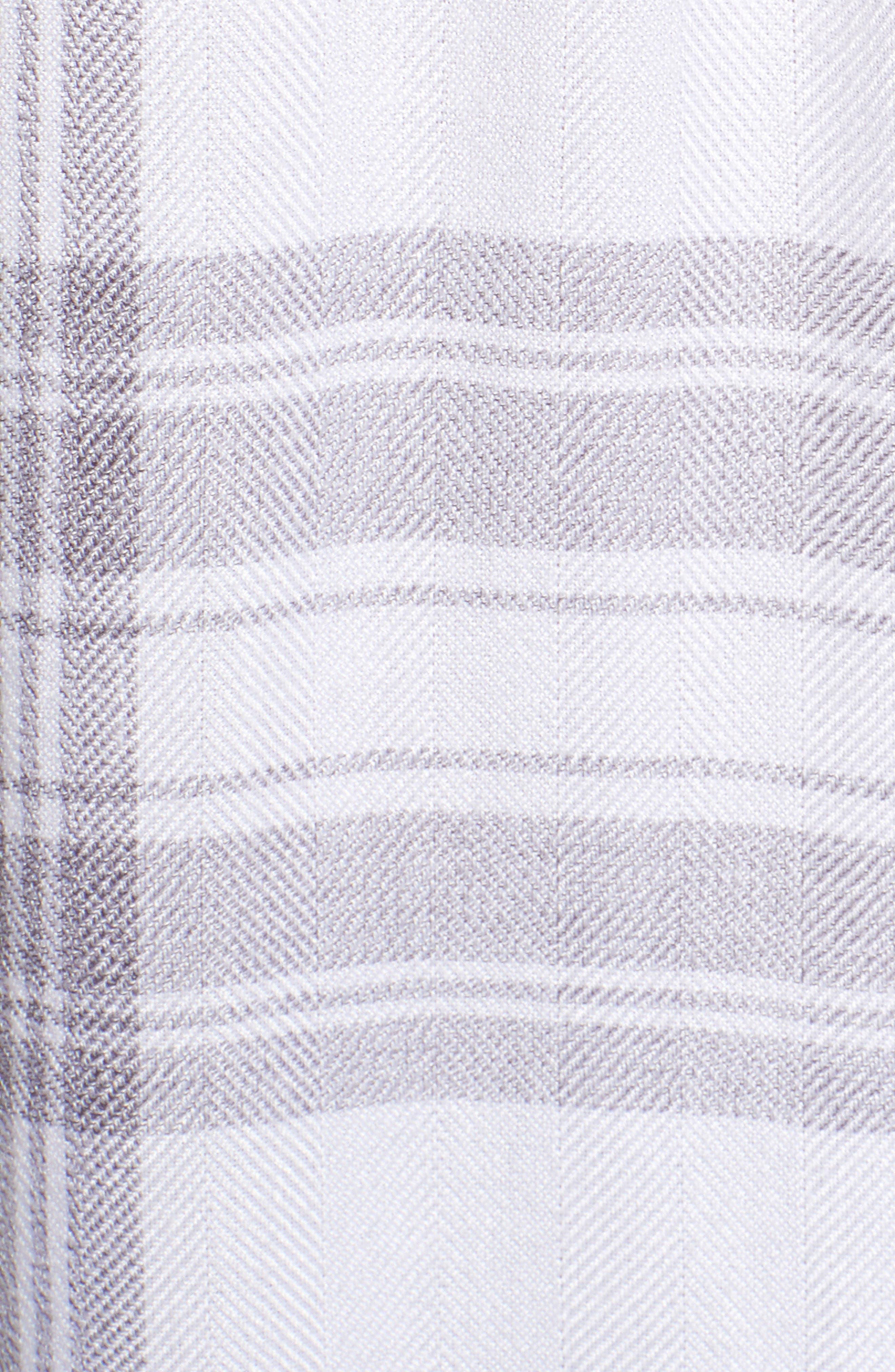RAILS,                             Hunter Plaid Shirt,                             Alternate thumbnail 6, color,                             WHITE PEPPER