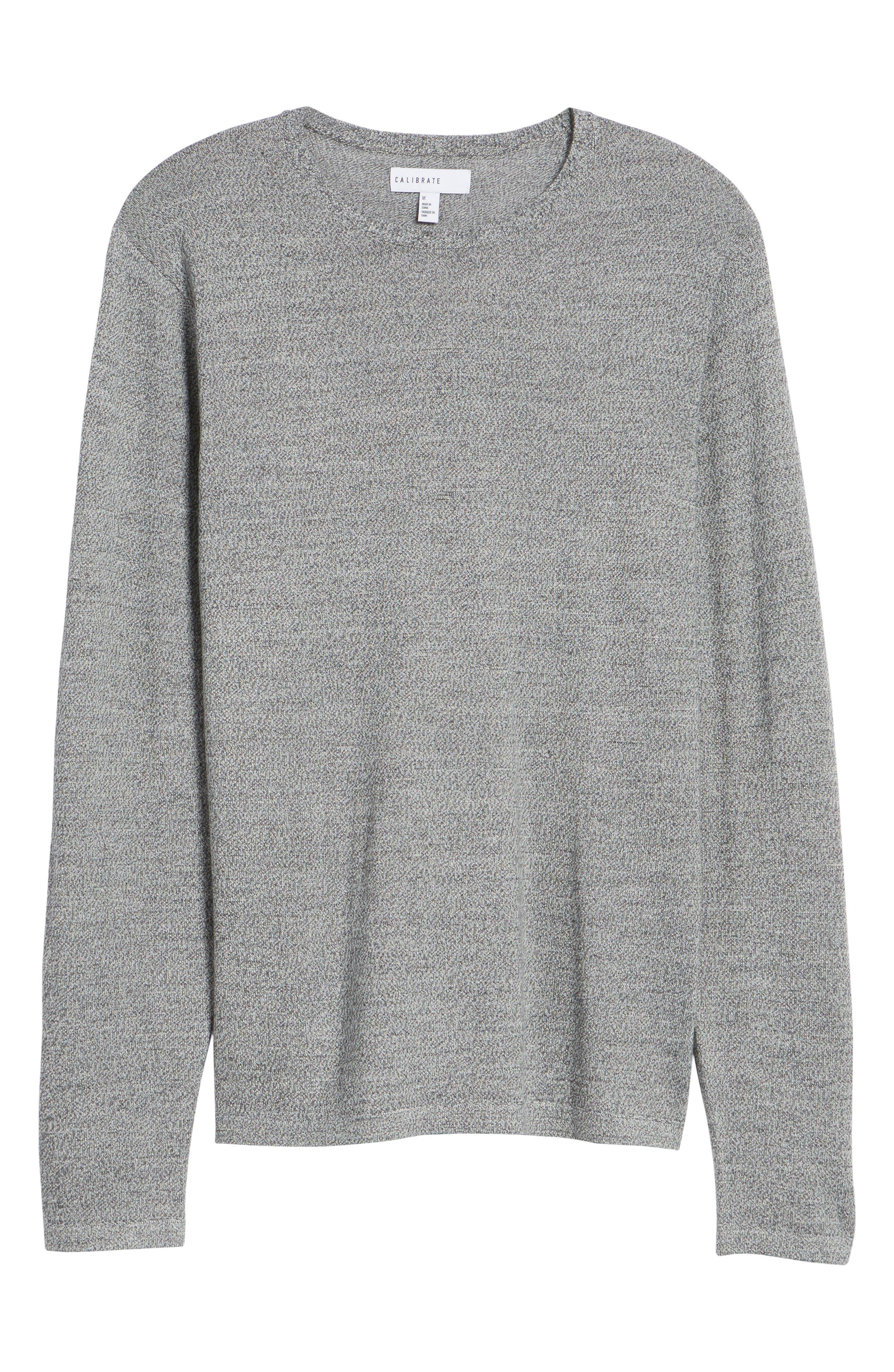 Merino Blend Crewneck Sweater,                             Alternate thumbnail 22, color,