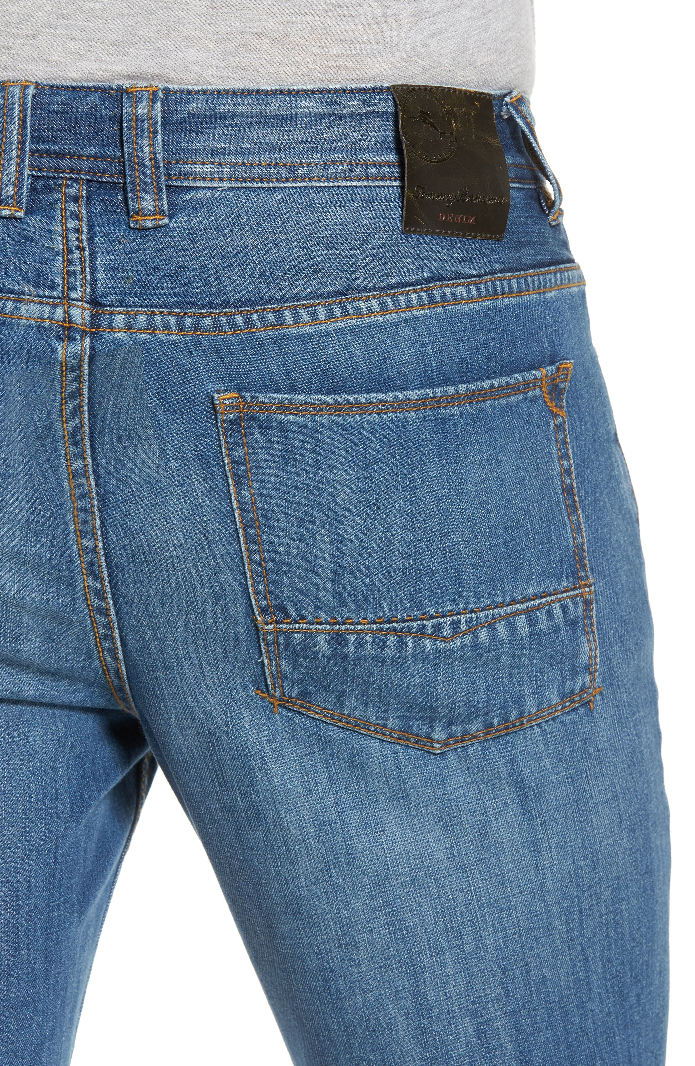 Bardabos Straight Leg Jeans,                             Alternate thumbnail 5, color,                             400