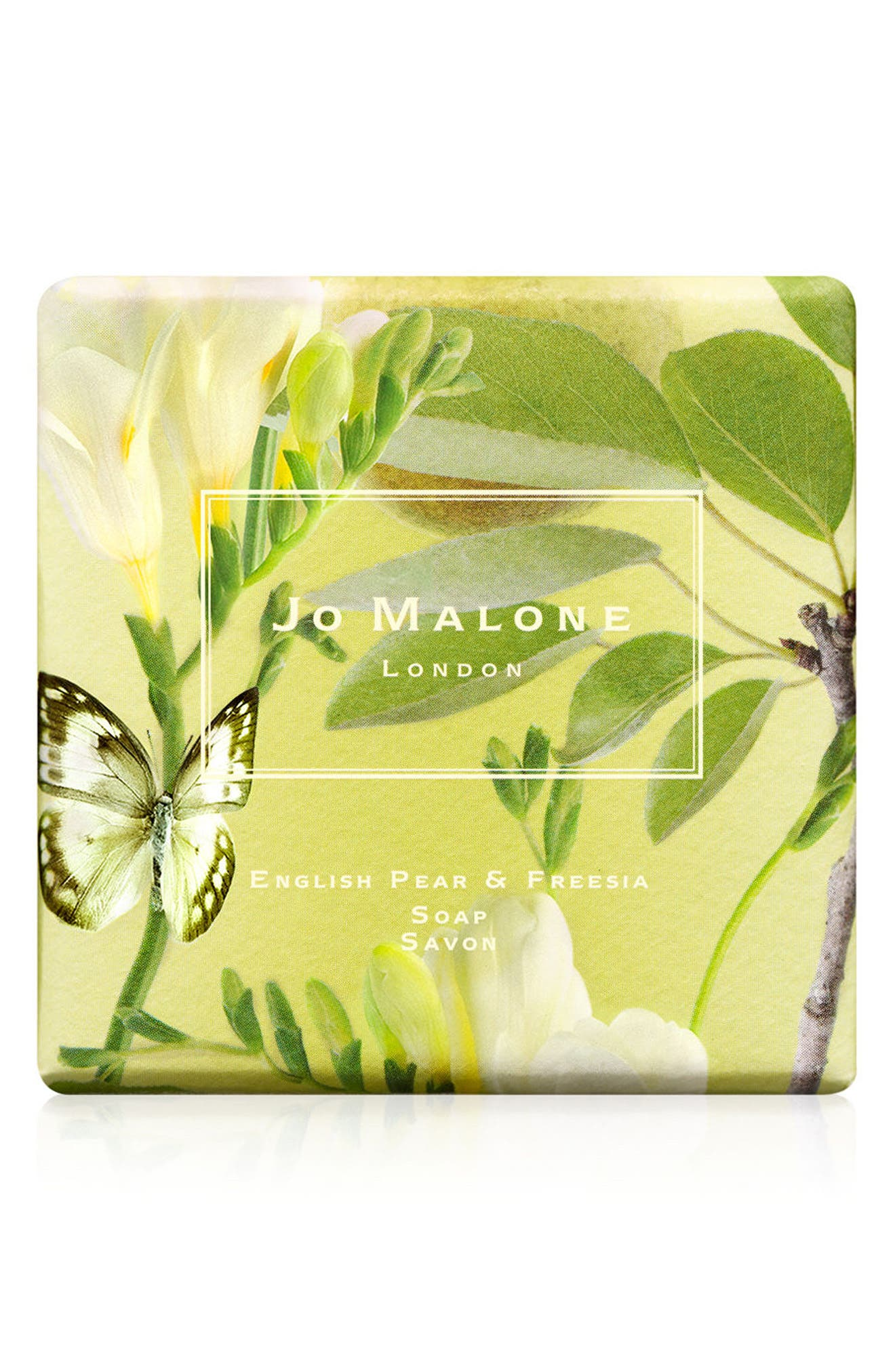 English Pear & Freesia Soap,                         Main,                         color, NO COLOR