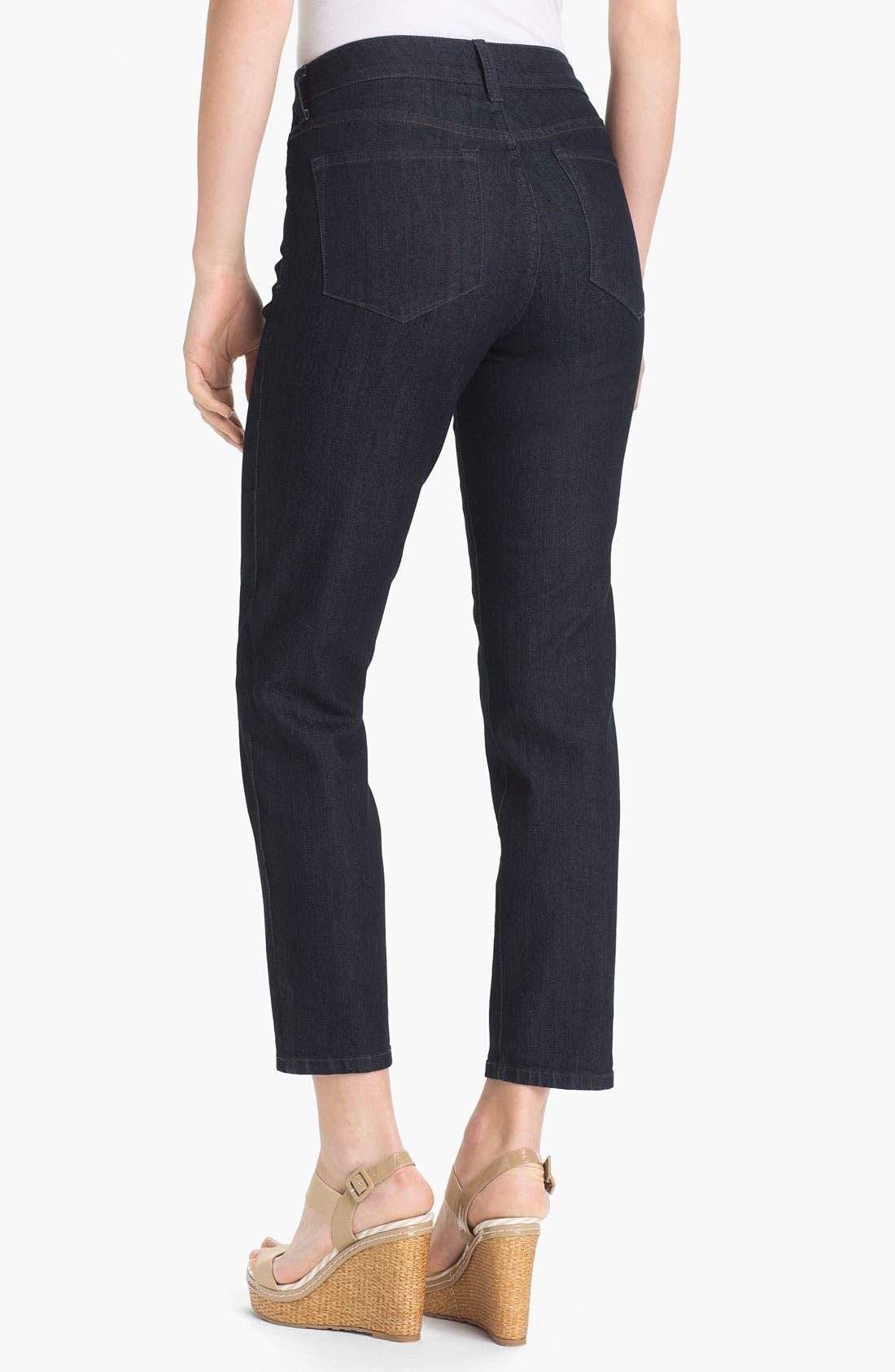 'Alisha' Skinny Stretch Ankle Jeans,                             Alternate thumbnail 3, color,                             400