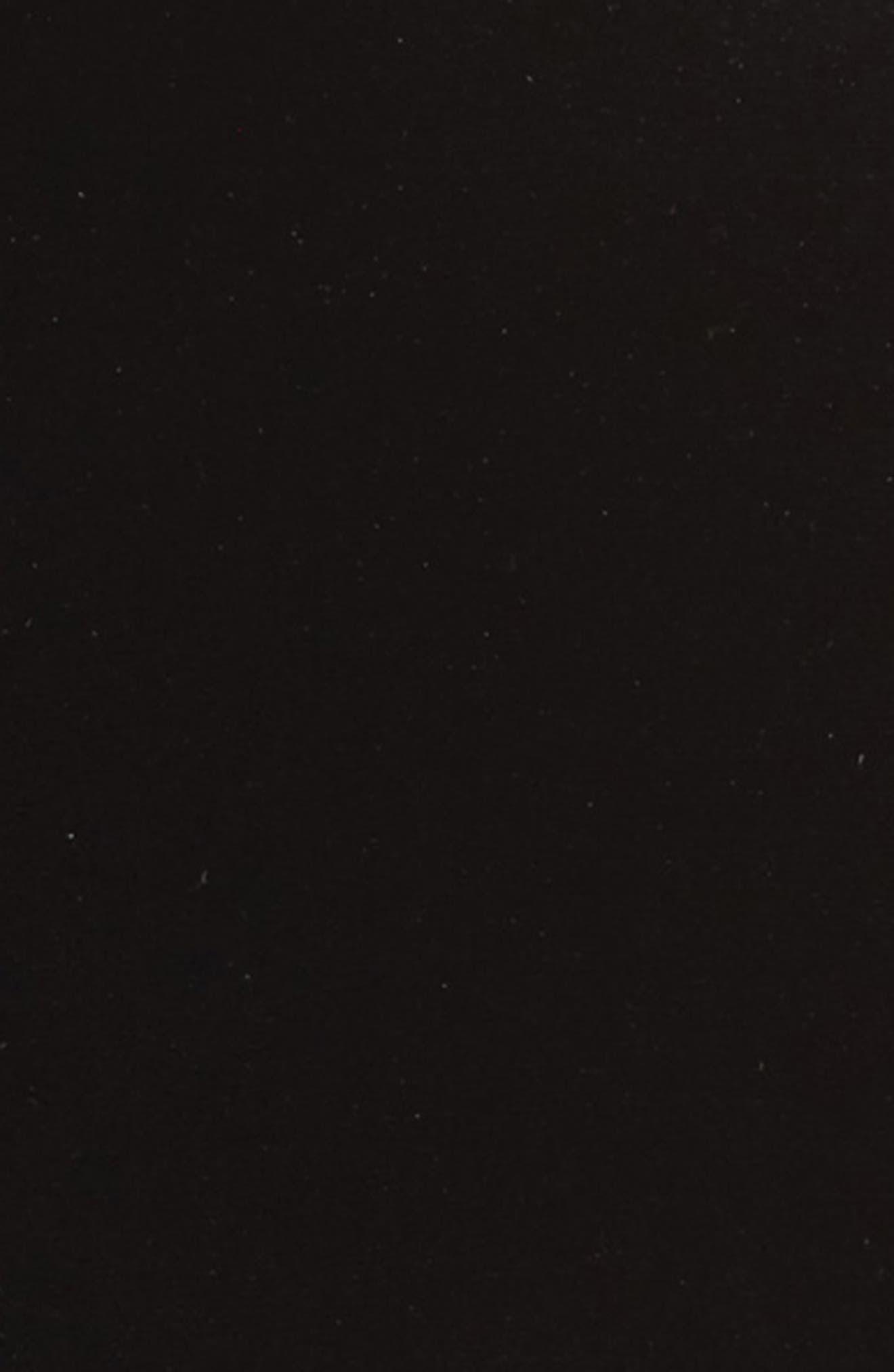 Velvet Blazer,                             Alternate thumbnail 7, color,                             BLACK