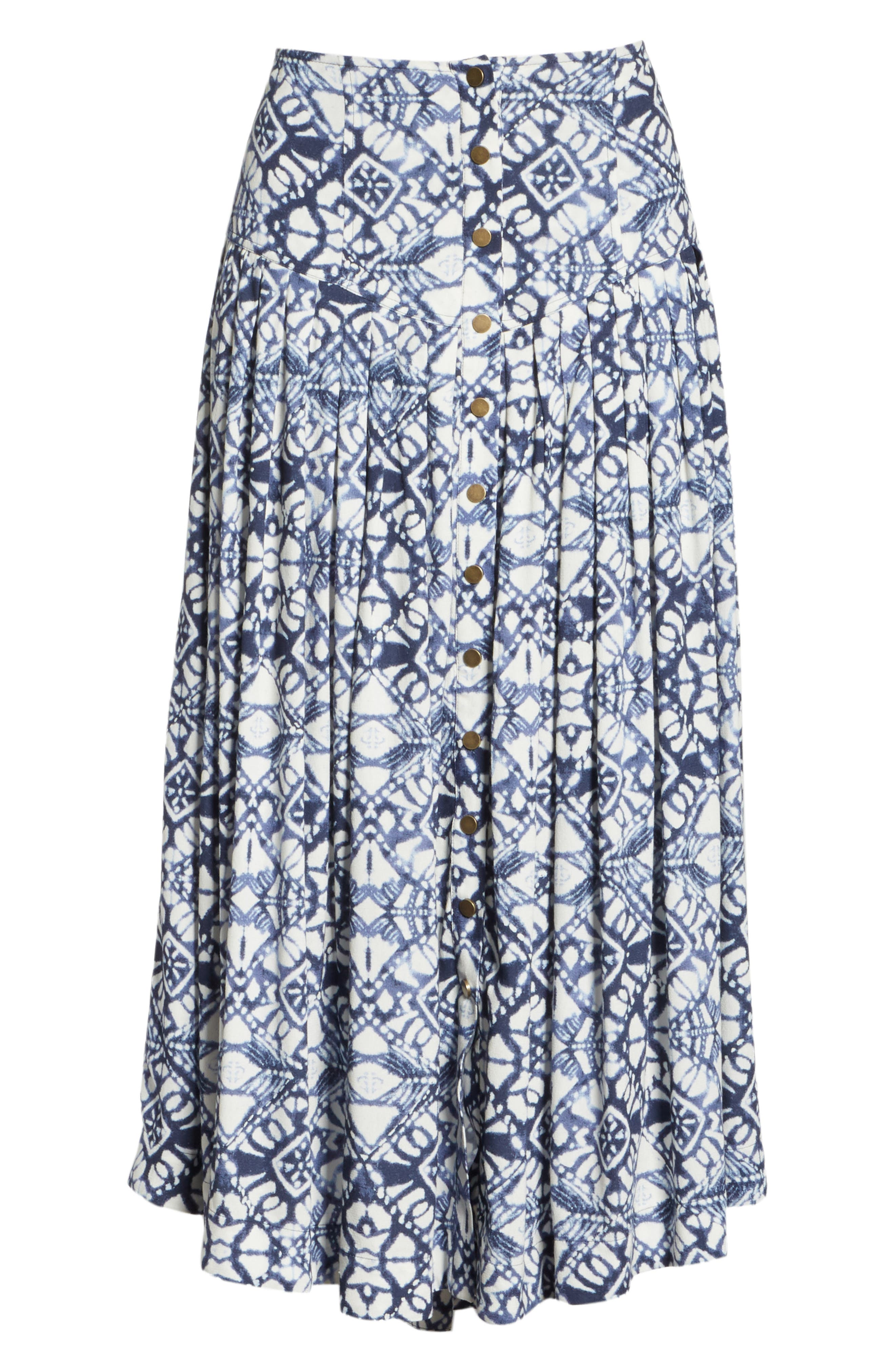 Lovers Dream Midi Skirt,                             Alternate thumbnail 6, color,                             401
