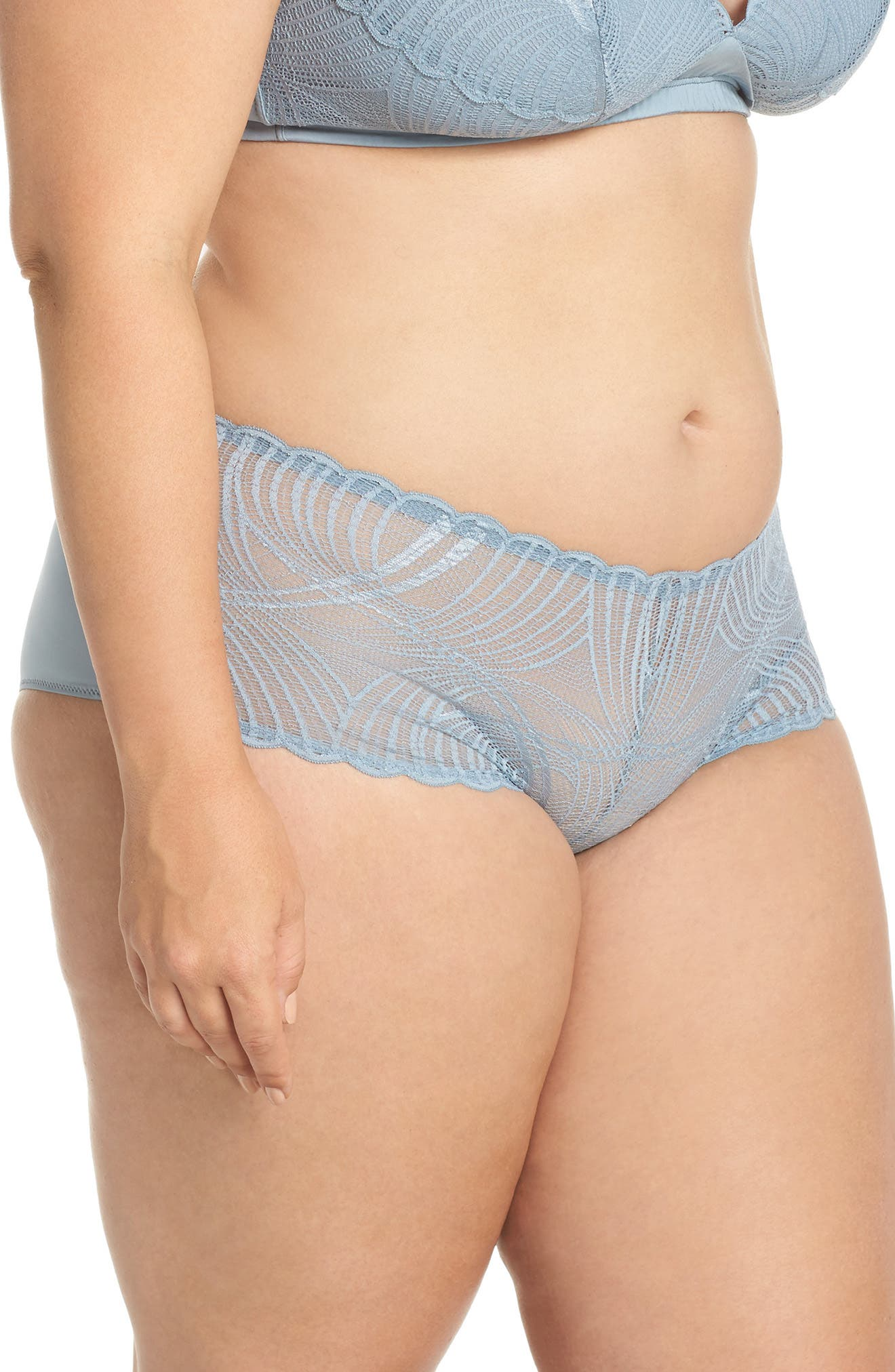 Minoa Low Rise Boyshorts,                             Alternate thumbnail 3, color,                             409