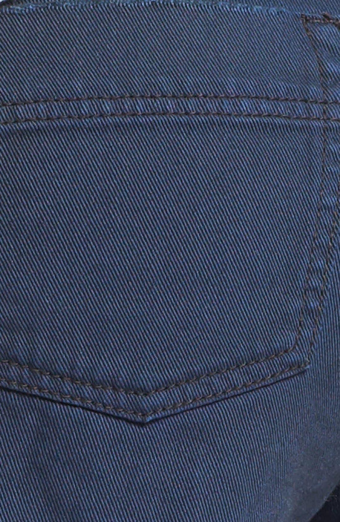 'Dolphin' Cutoff Denim Shorts,                             Alternate thumbnail 19, color,