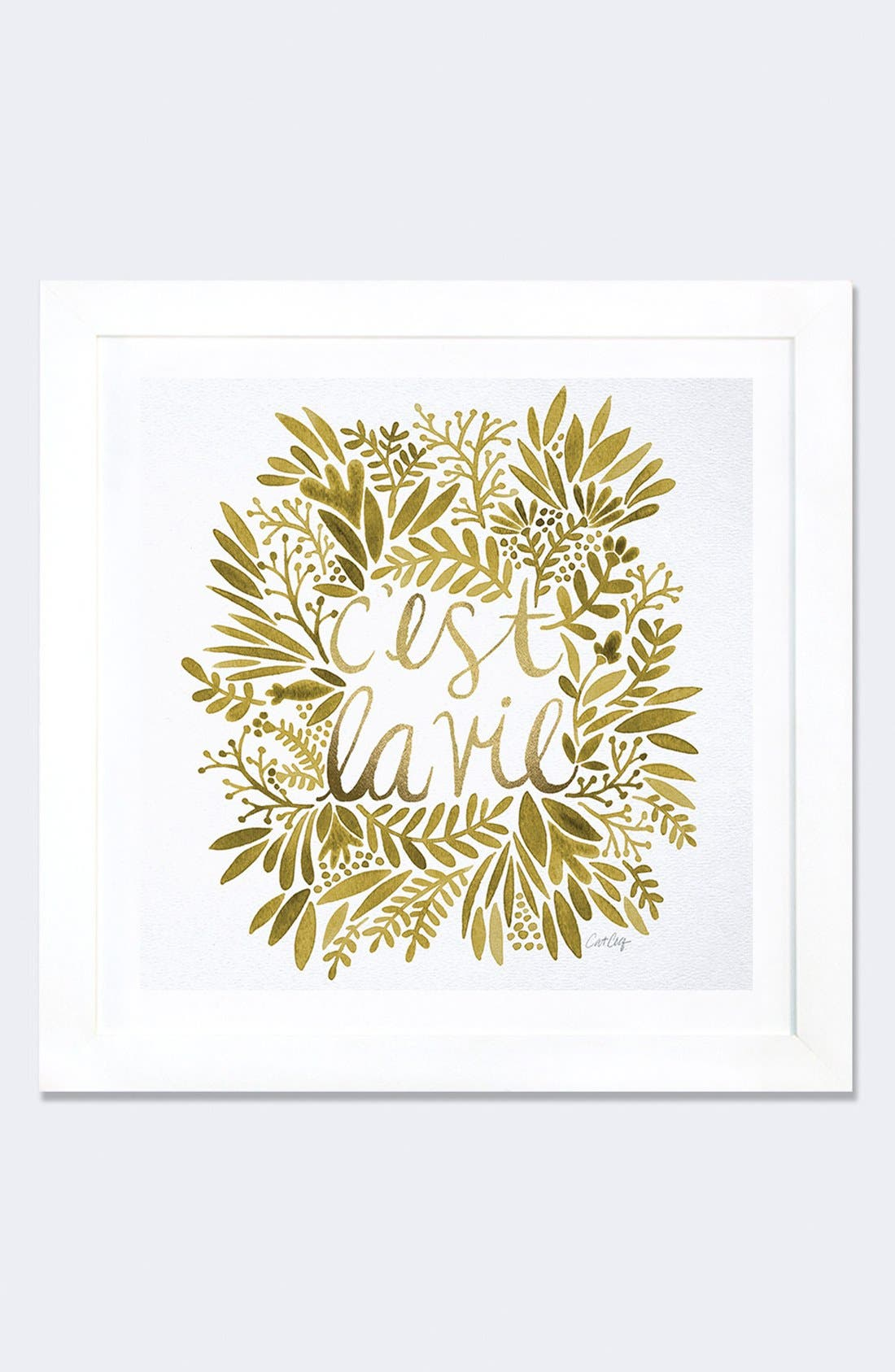'C'est la Vie' Framed Fine Art Print,                         Main,                         color, 100