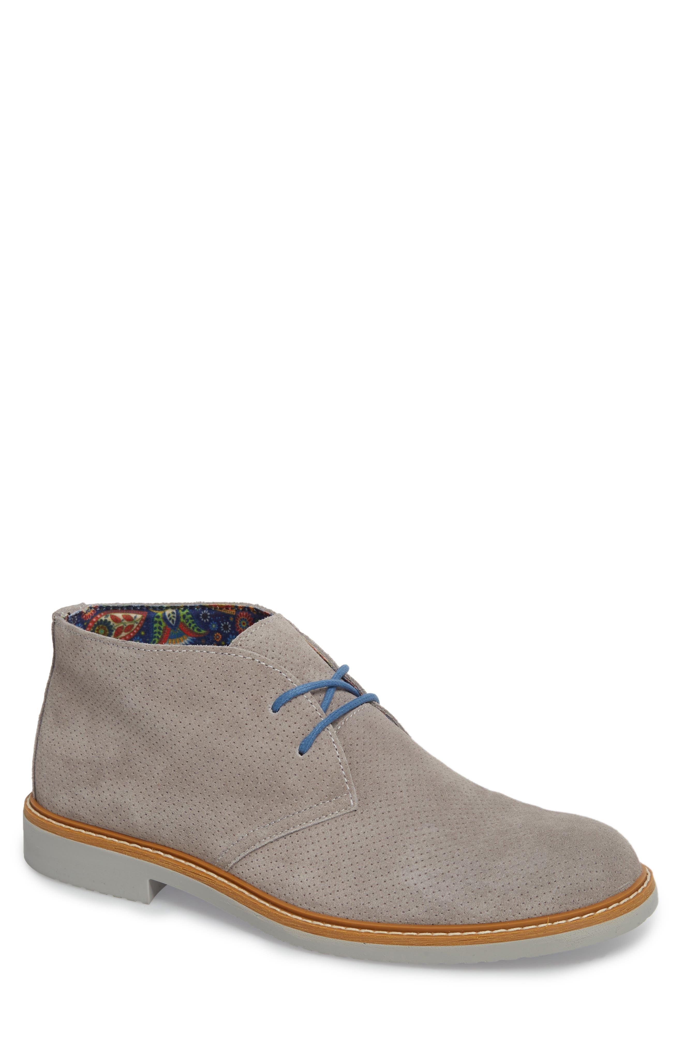 Bayside Perforated Chukka Boot,                             Main thumbnail 1, color,                             020