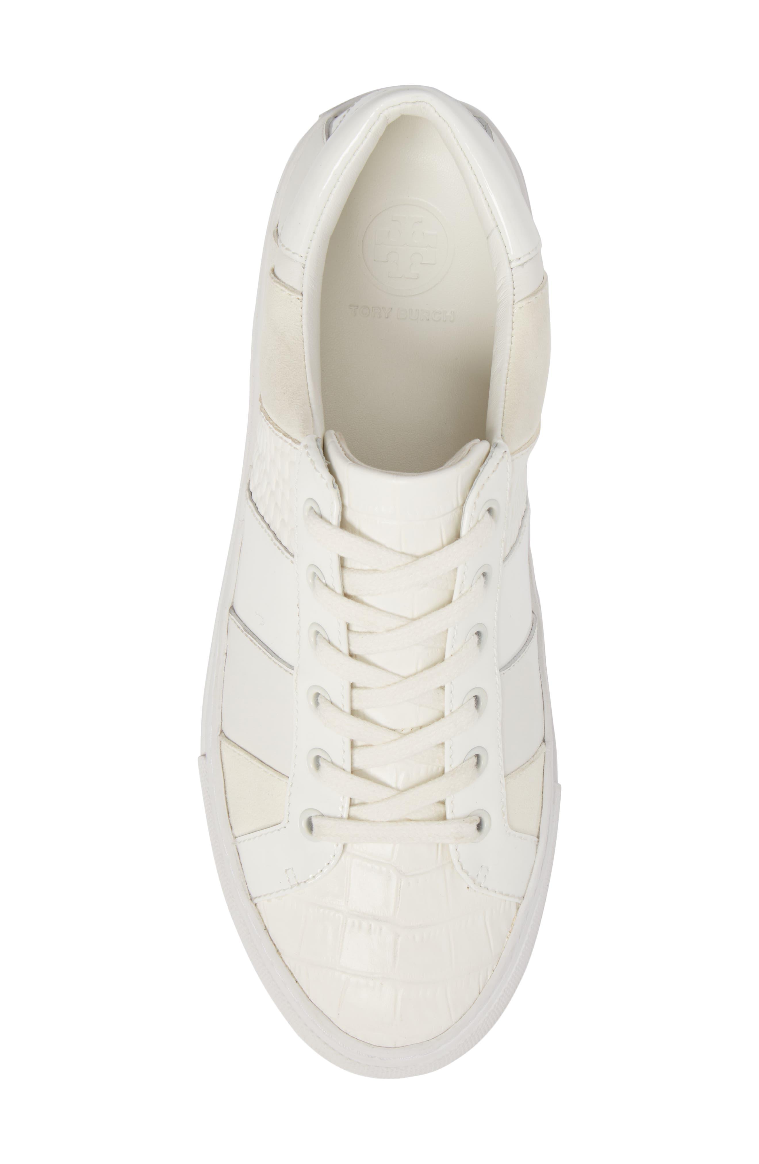 Ames Sneaker,                             Alternate thumbnail 5, color,                             SNOW WHITE