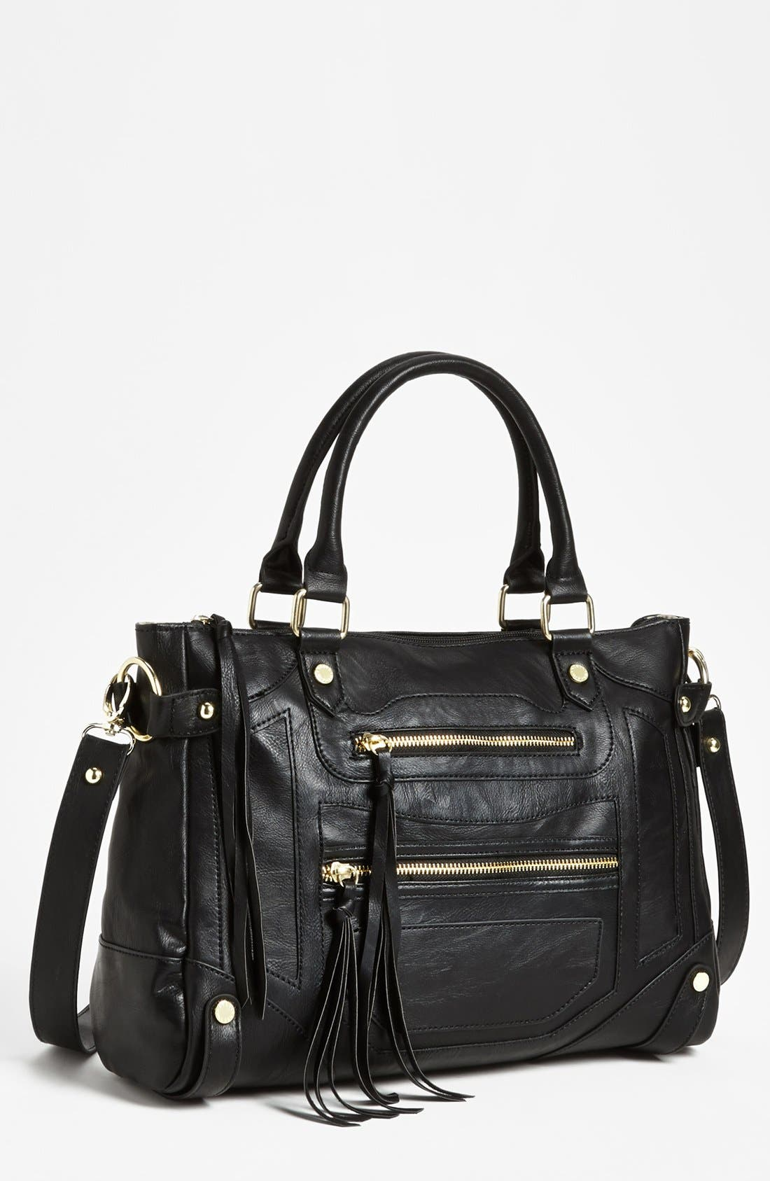 Steve Madden 'Talia' Satchel,                         Main,                         color, 001
