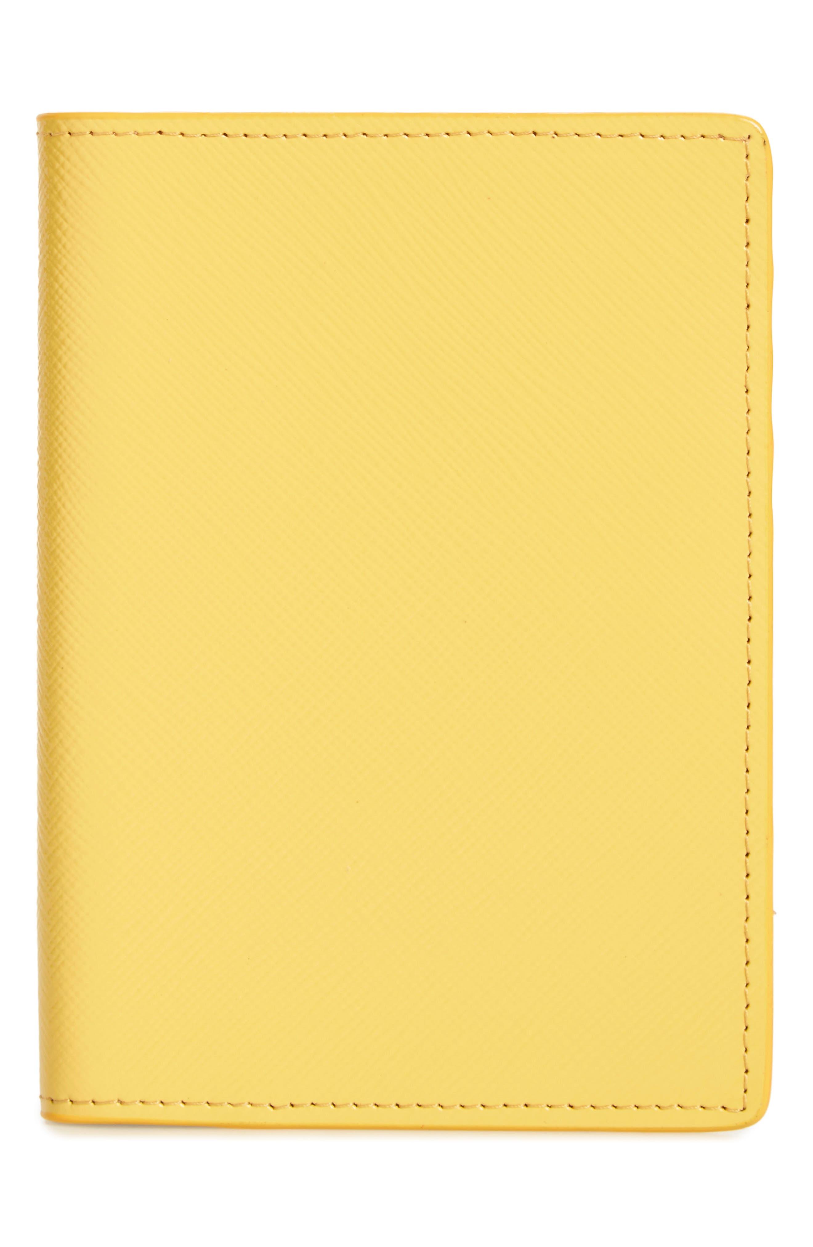 Leather Passport Case,                             Main thumbnail 9, color,