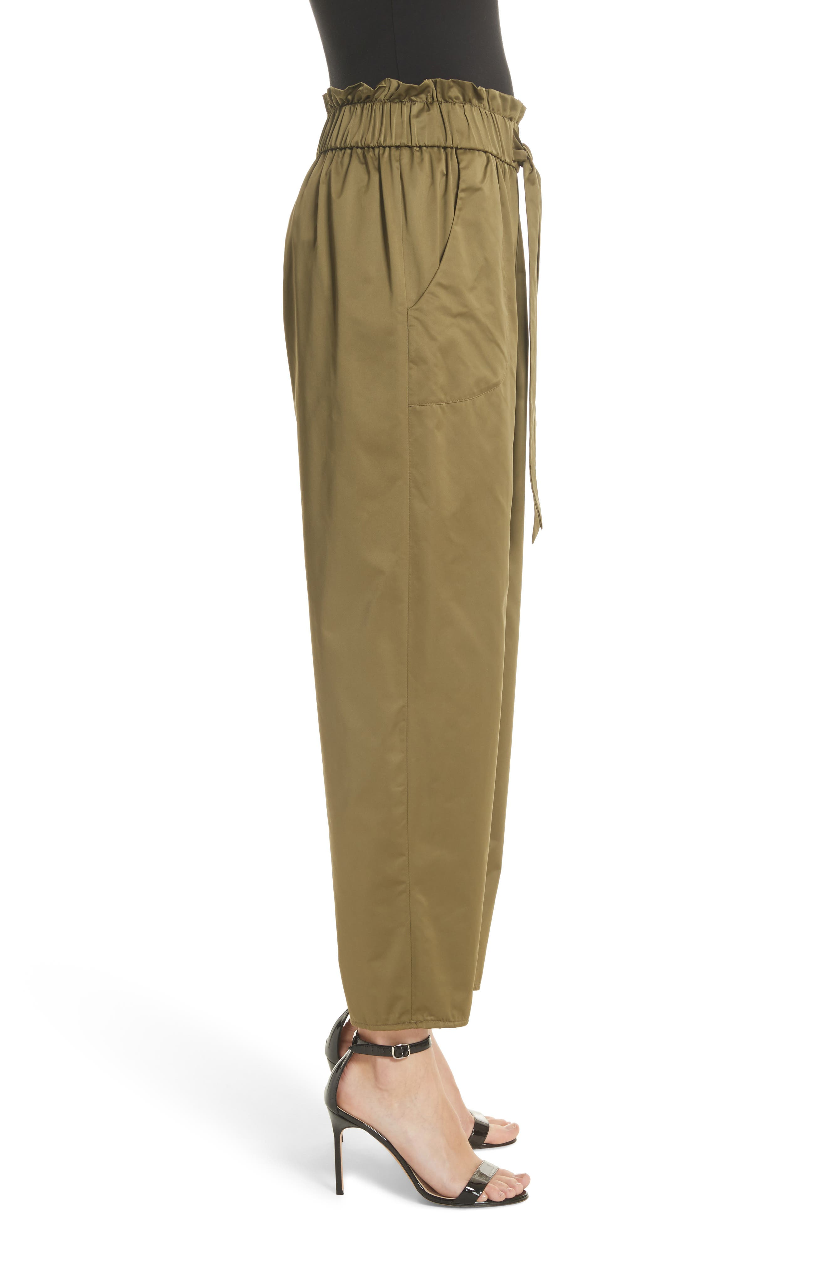 Kori Paperbag Waist Pants,                             Alternate thumbnail 3, color,