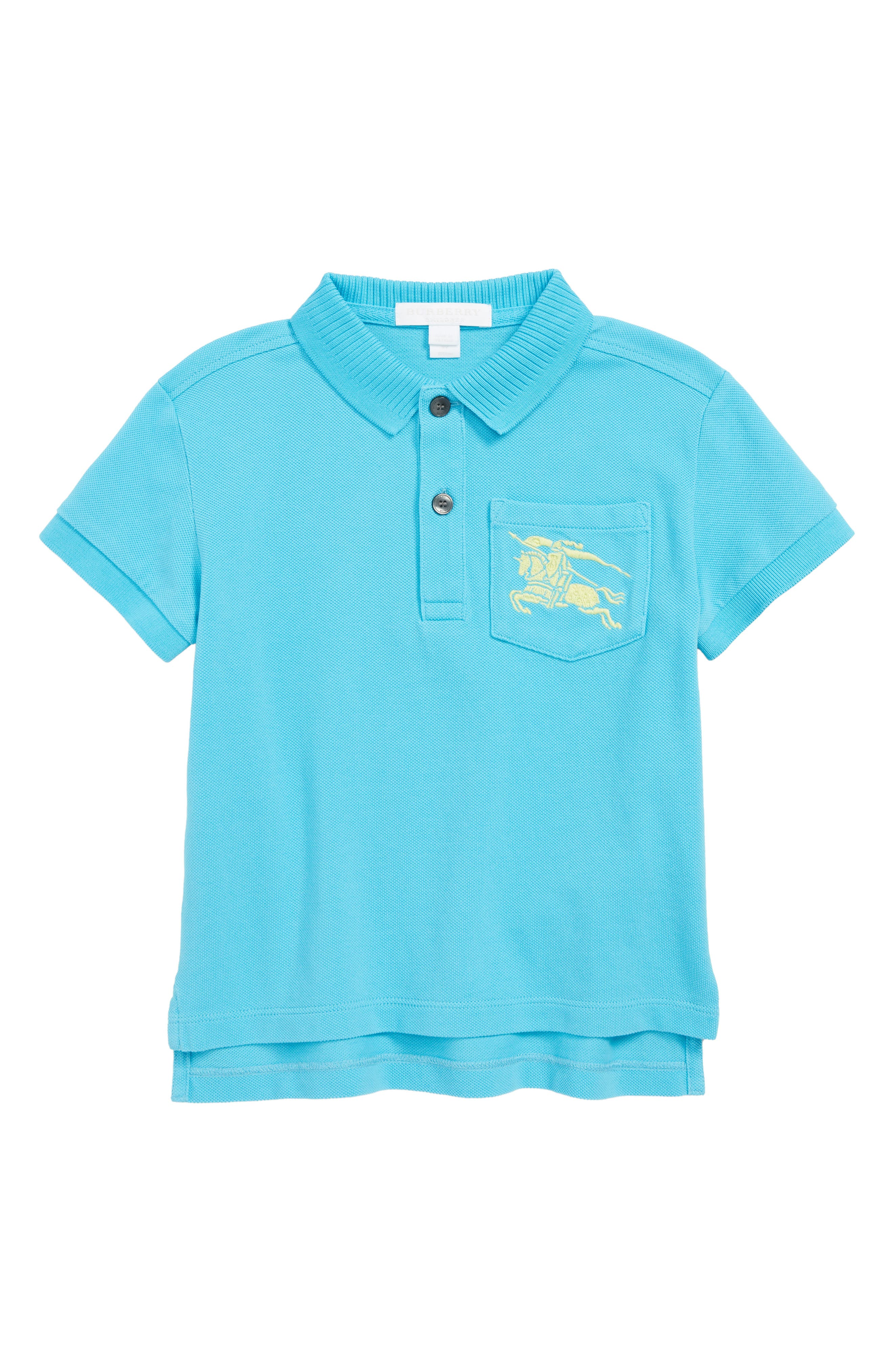 Grant Polo,                         Main,                         color, BRIGHT CYAN BLUE