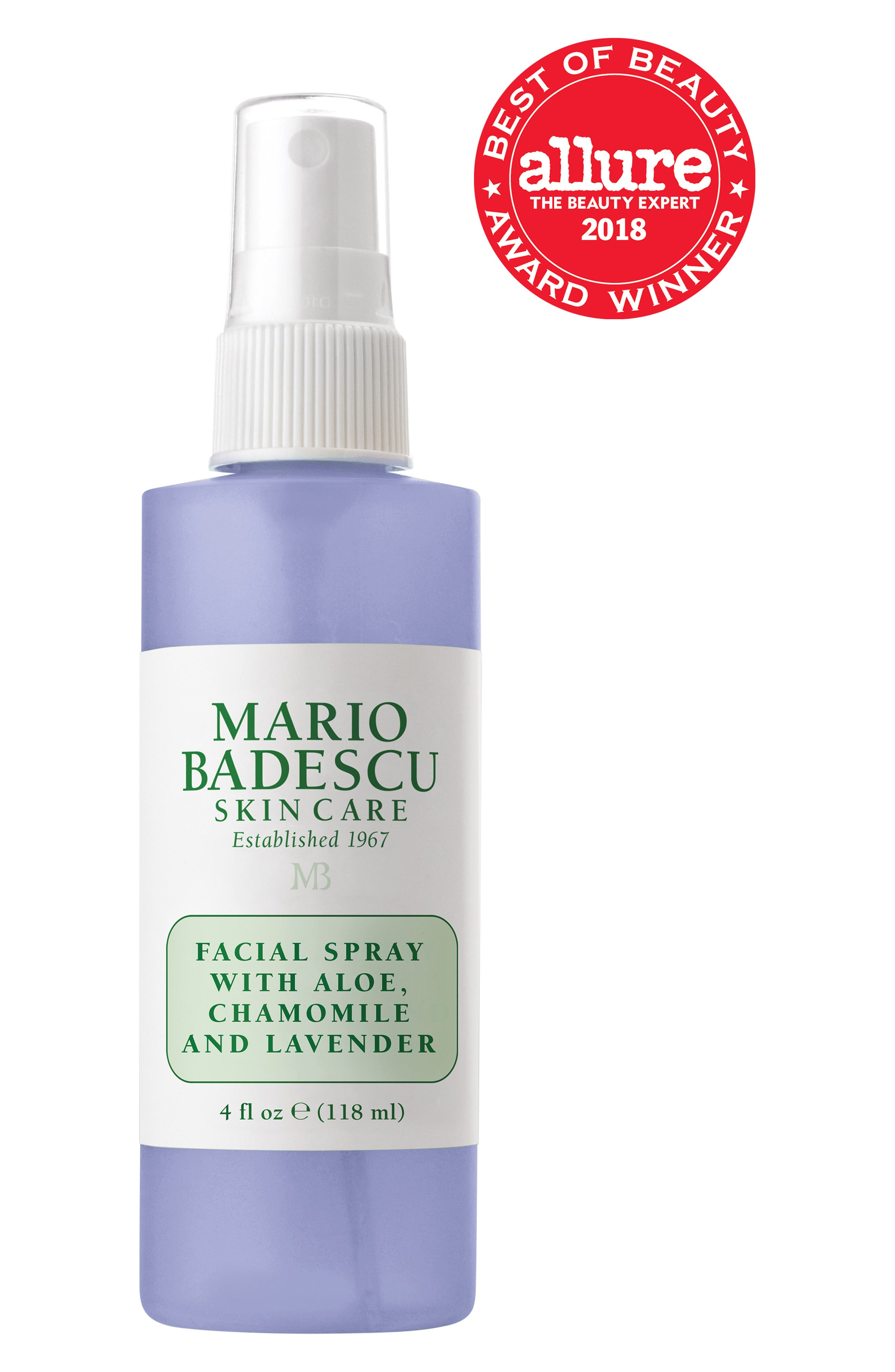 Facial Spray with Aloe, Chamomile & Lavender,                             Alternate thumbnail 2, color,                             NO COLOR