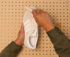 Watch the how to clean suede sneakers video.