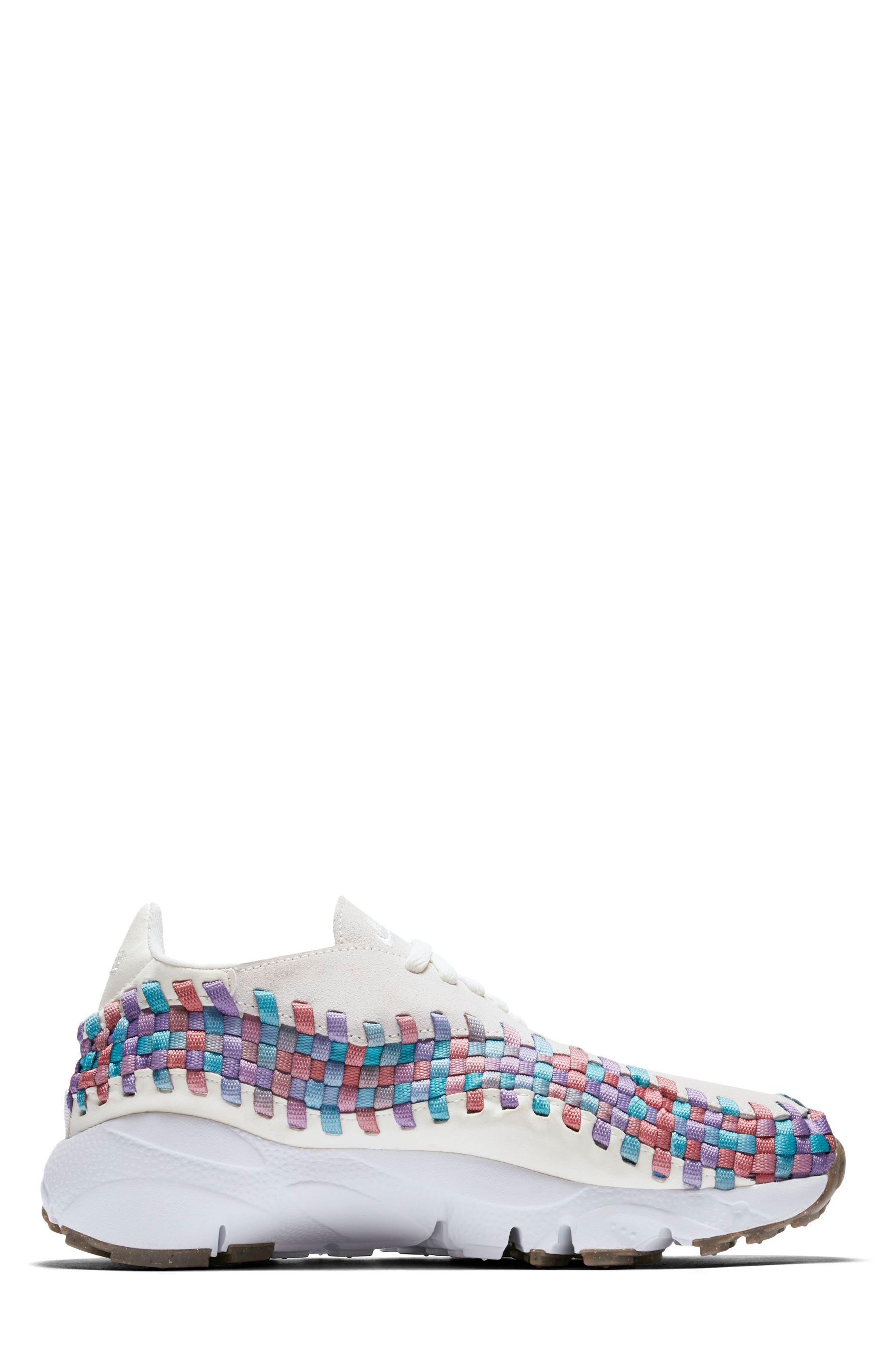 Air Footscape Woven Sneaker,                             Alternate thumbnail 9, color,