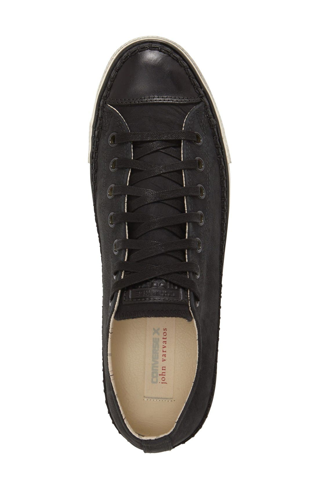 Chuck Taylor<sup>®</sup> All Star<sup>®</sup> Low-Top Sneaker,                             Alternate thumbnail 3, color,                             001