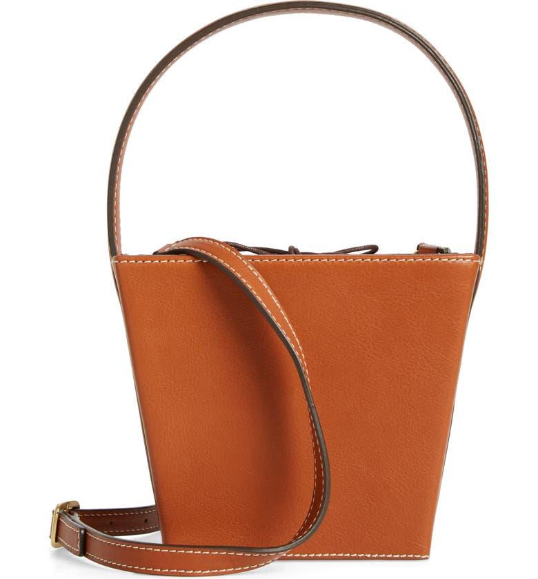 2b83be94f7 STAUD Edie Leather Bucket Bag