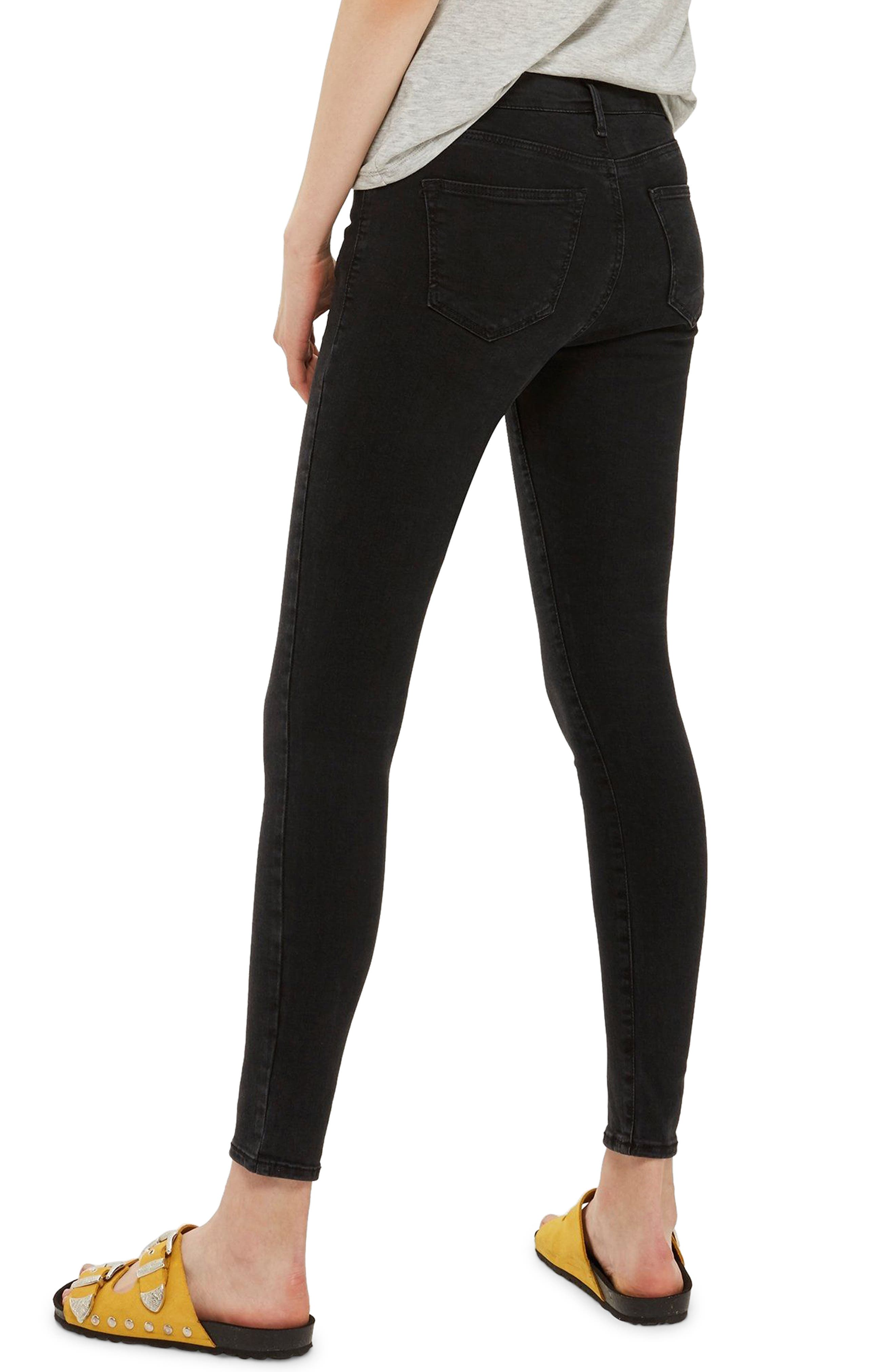 MOTO Sidney Stretch Skinny Jeans,                             Alternate thumbnail 3, color,