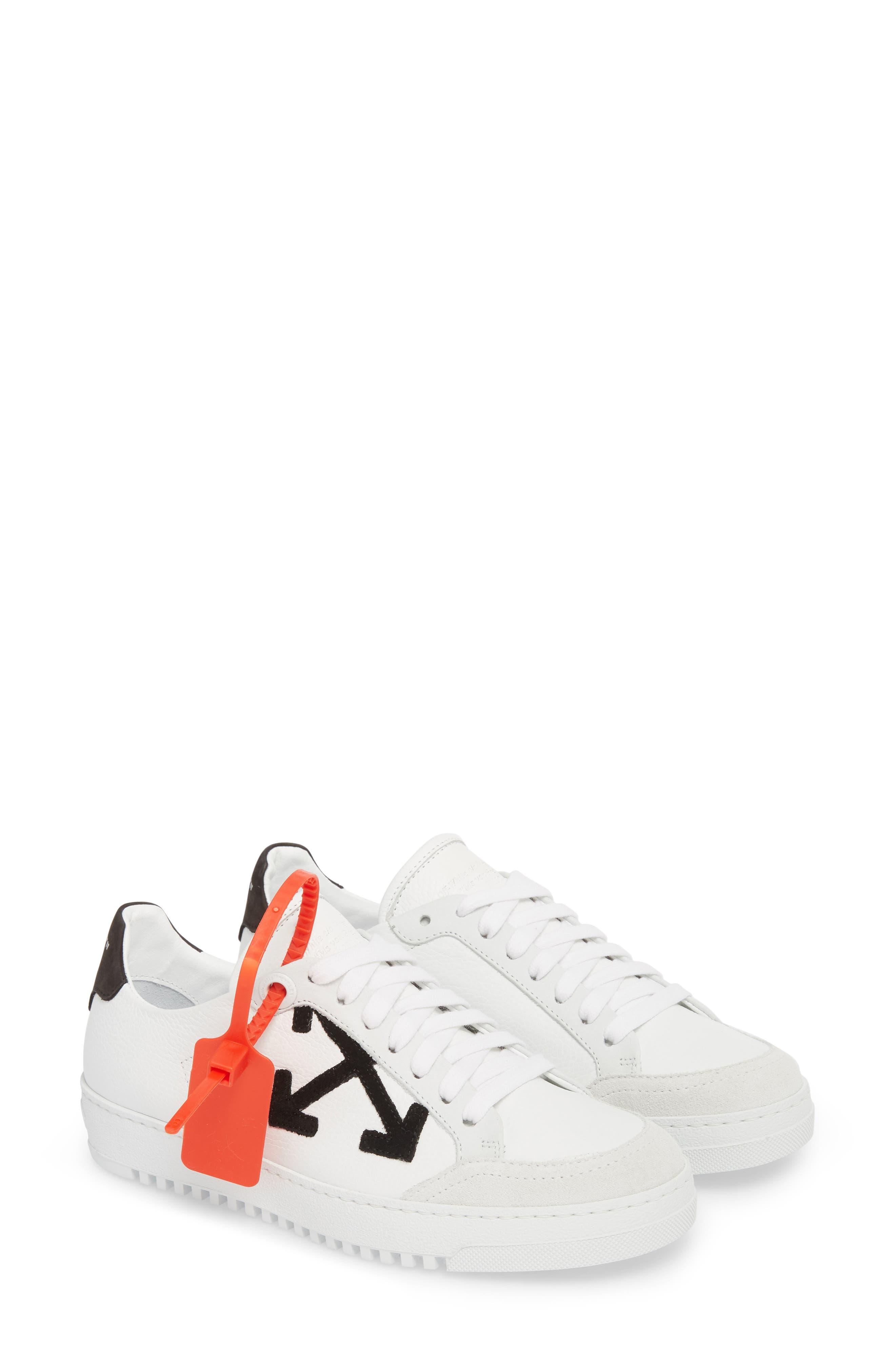 Arrow Sneaker,                             Alternate thumbnail 2, color,                             WHITE BLACK