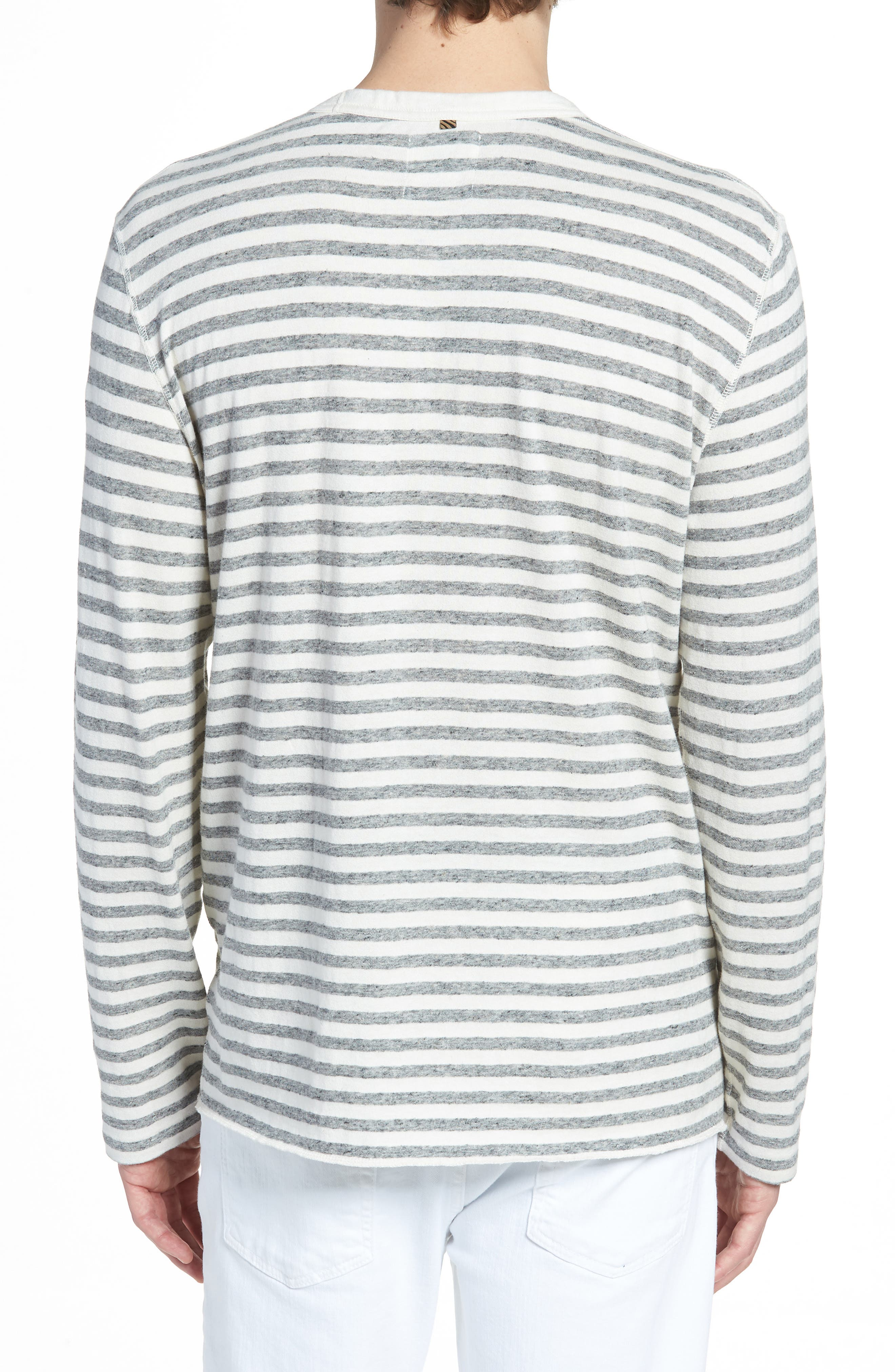 Stripe Long Sleeve Shirt,                             Alternate thumbnail 2, color,